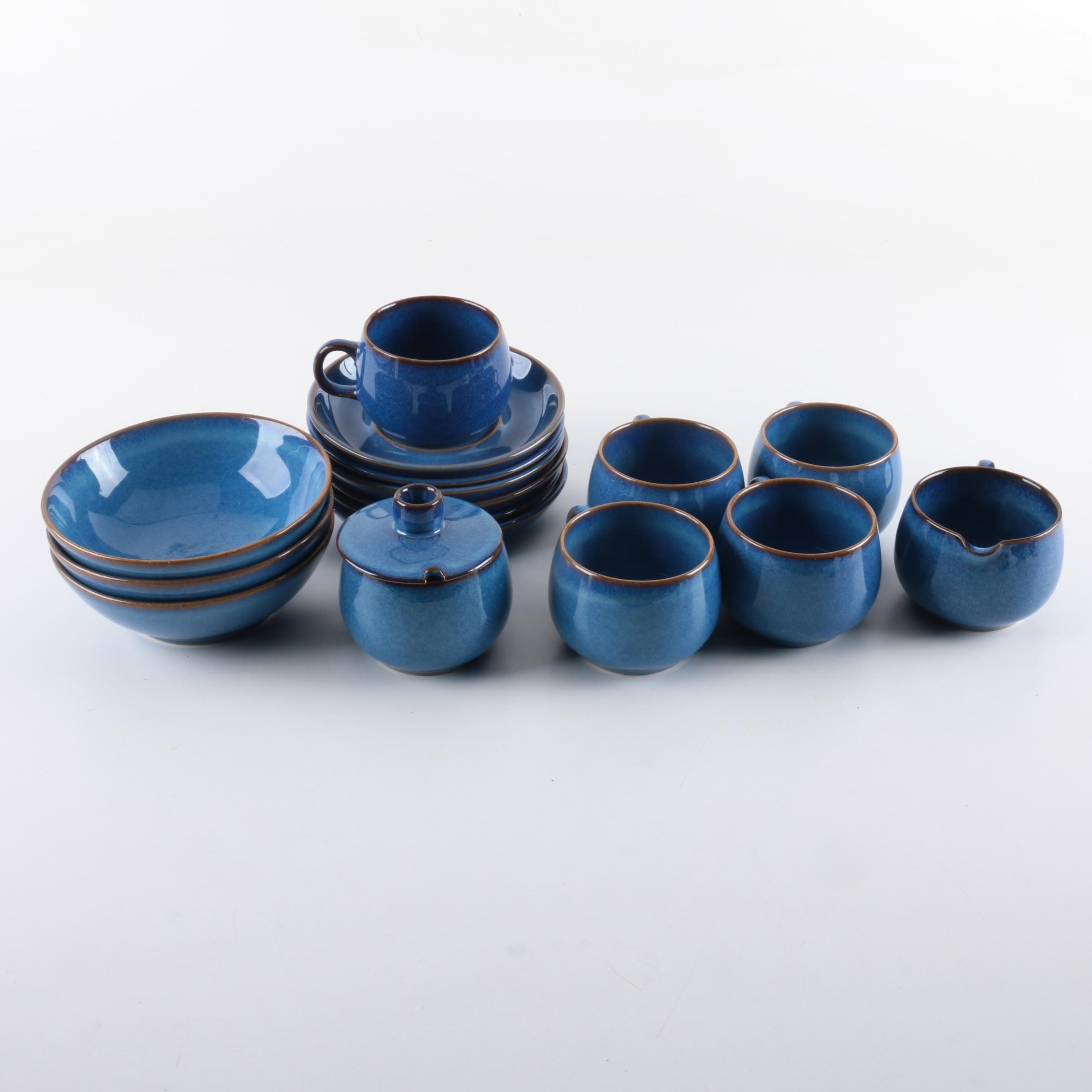 Denby-Langley  English Blue  Stoneware Tableware ... & Denby-Langley