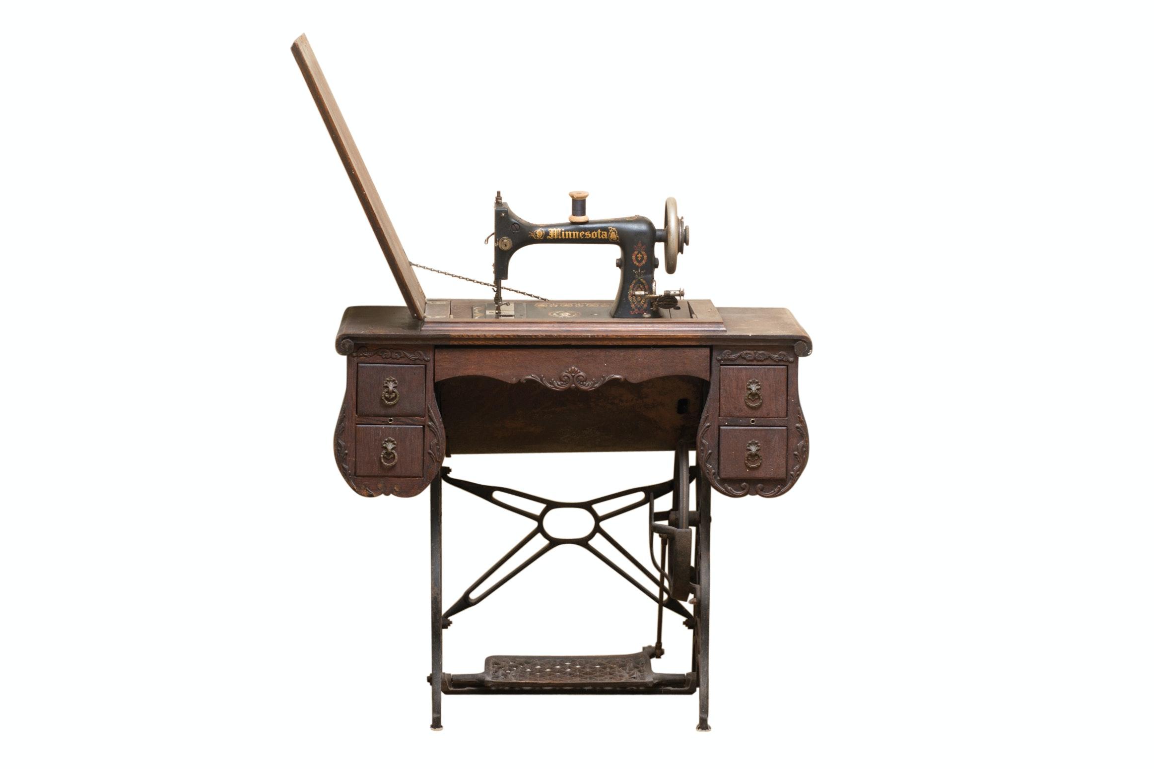 Antique Minnesota Sewing Machine