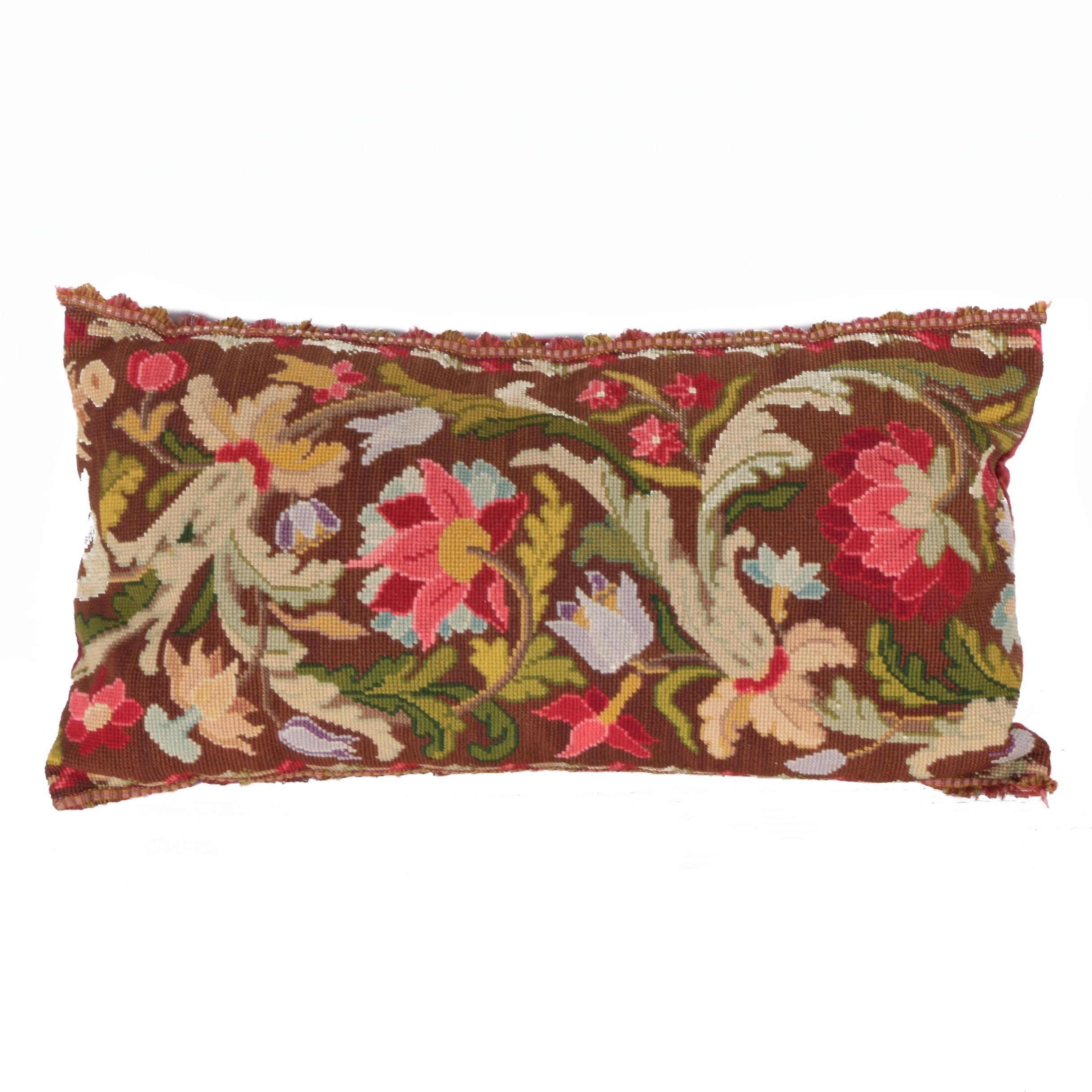 Needlepoint Accent Pillow