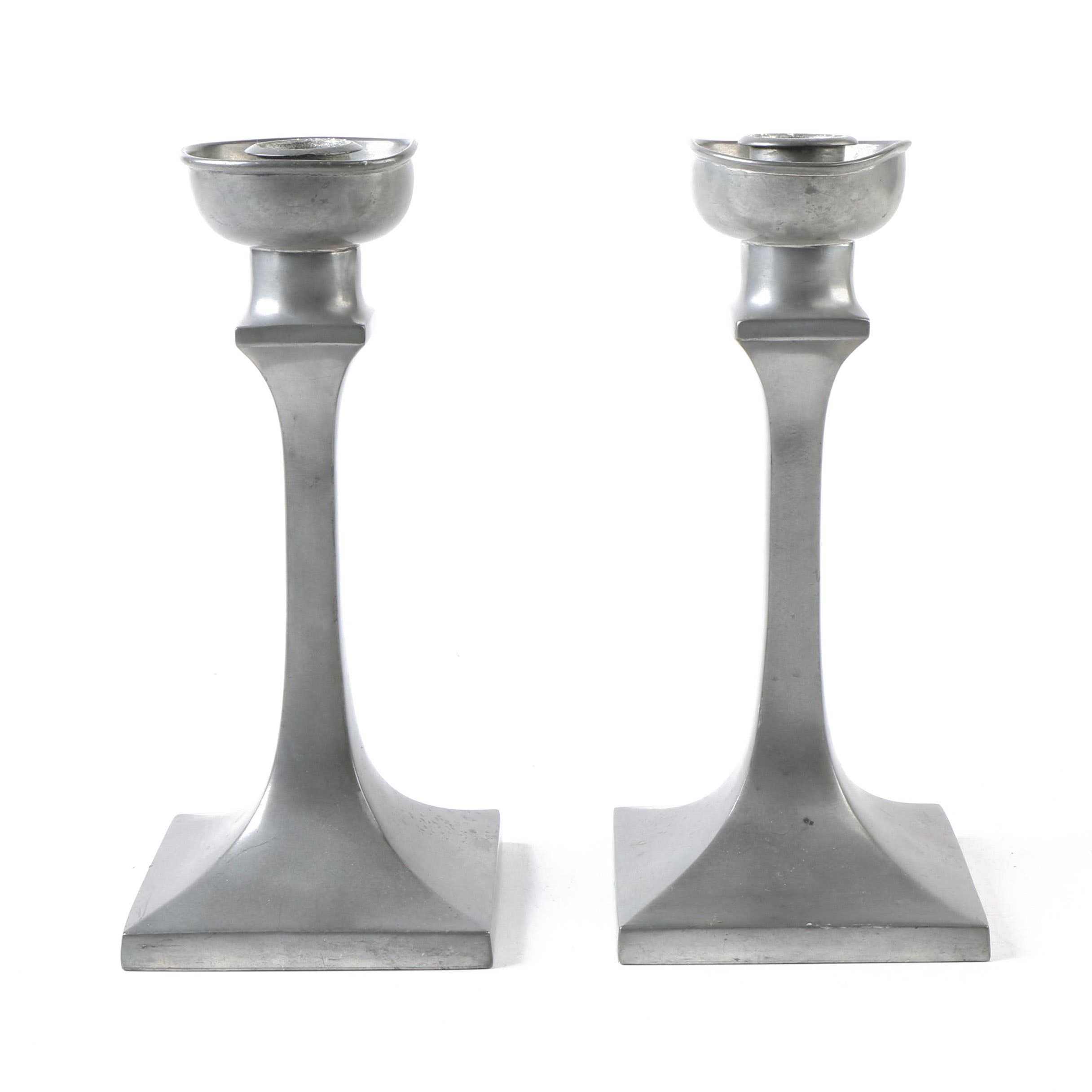 Insico Pewter Candle Holders
