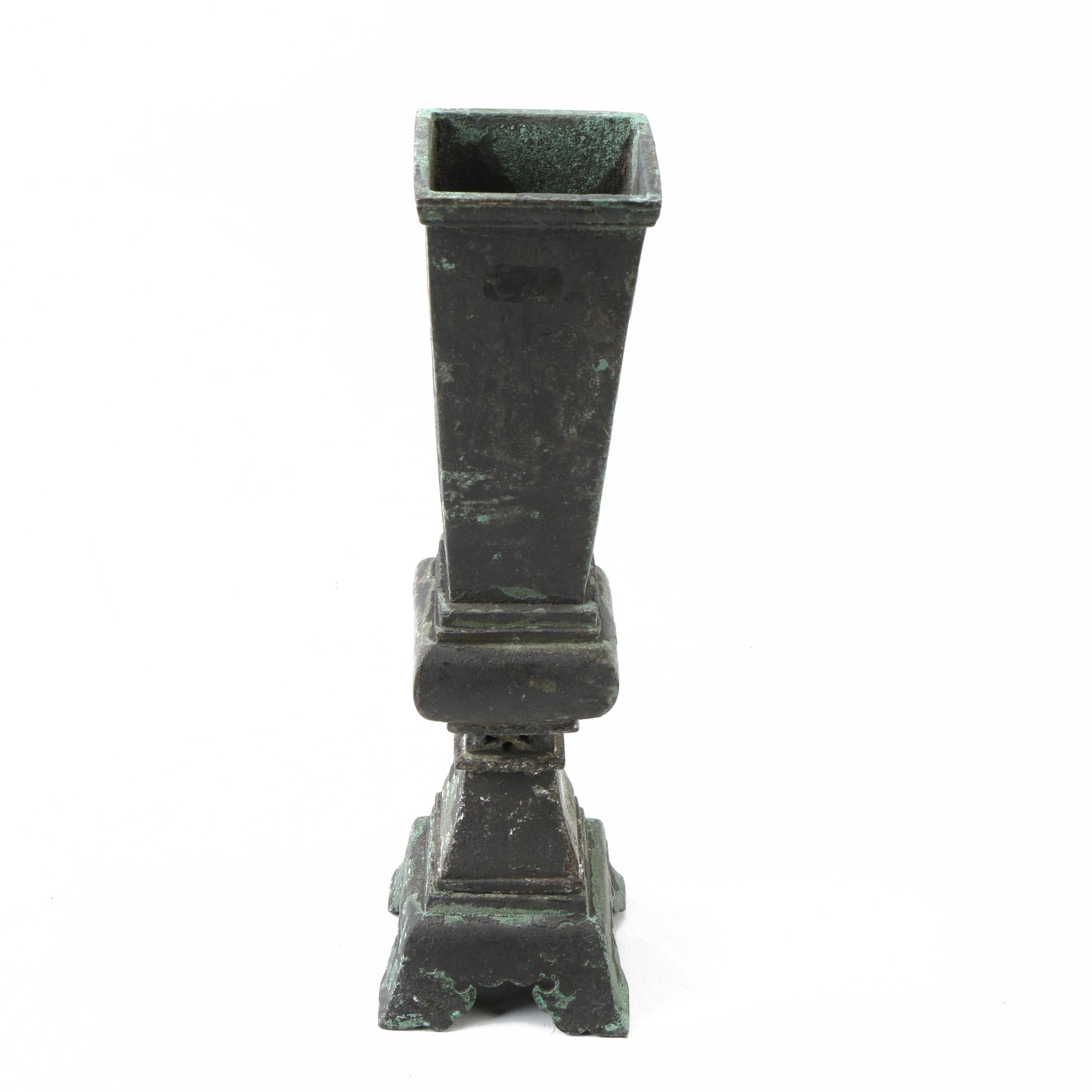 Metal Chinese Urn