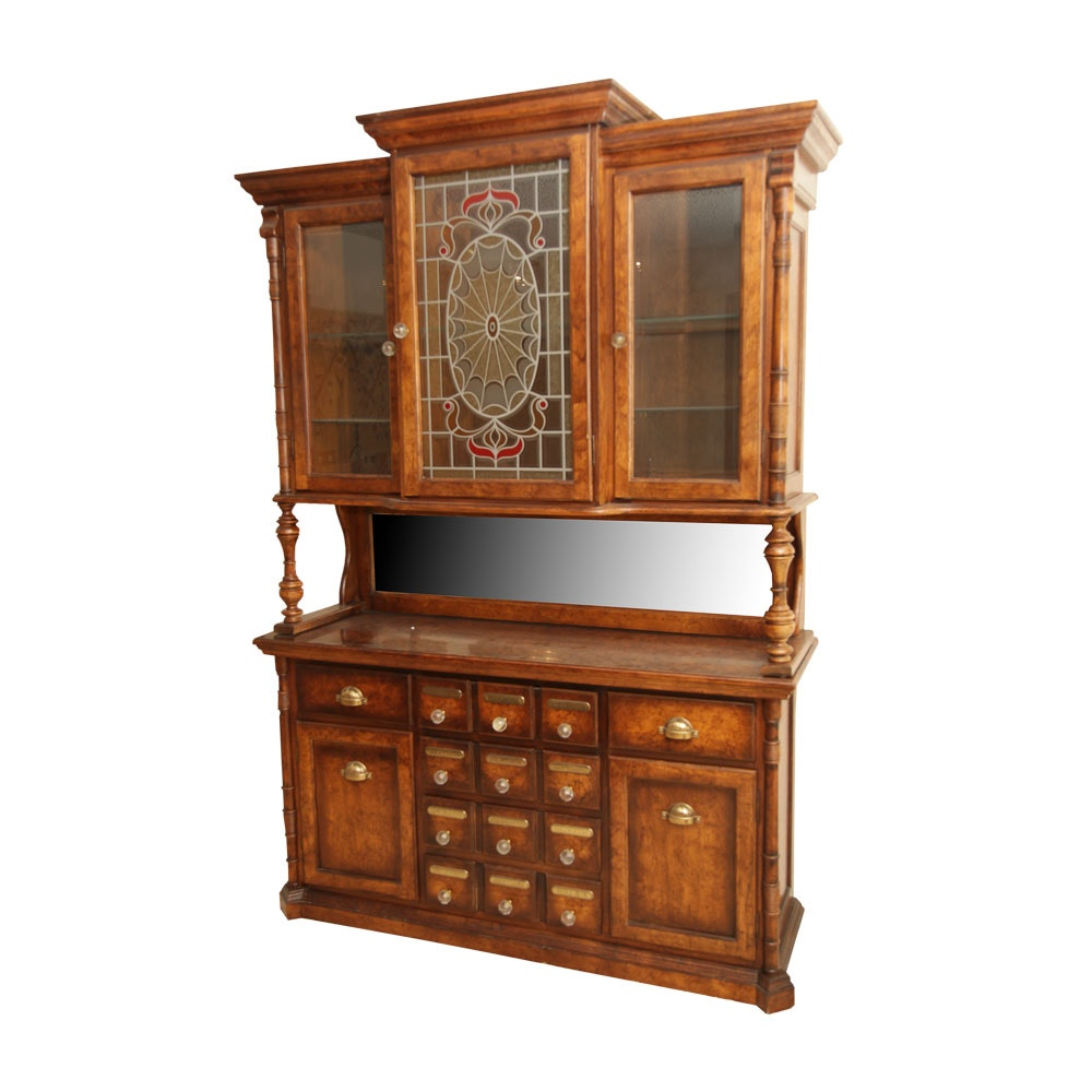 Apothecary Style Buffet Cabinet
