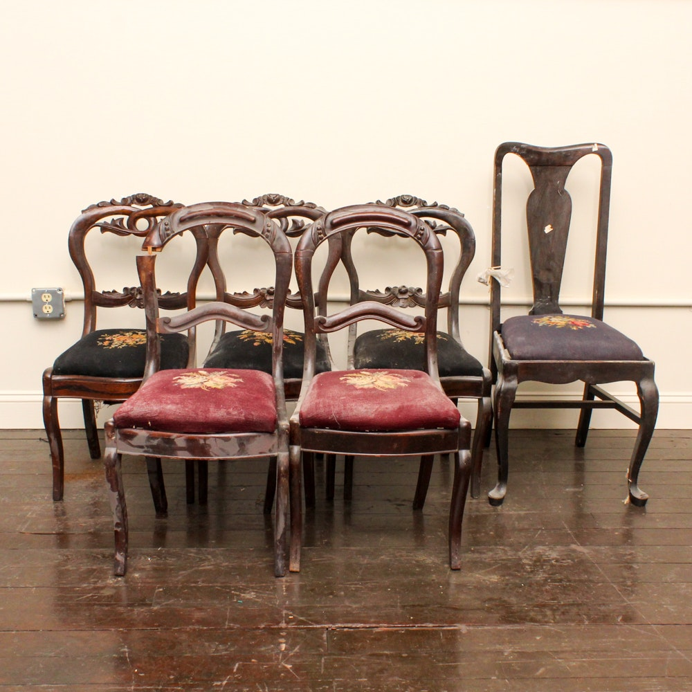Victorian and Queen Anne Style Side Chairs