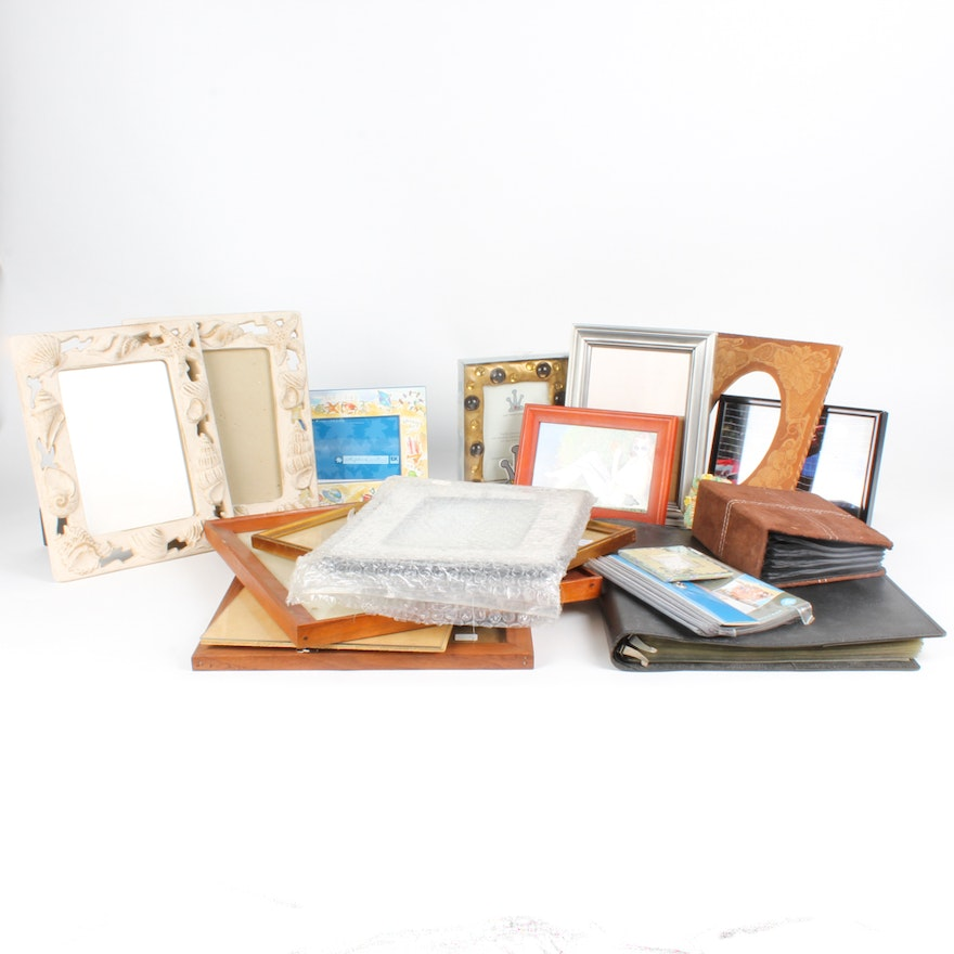 Wooden and Resin Picture Frame Assortment : EBTH