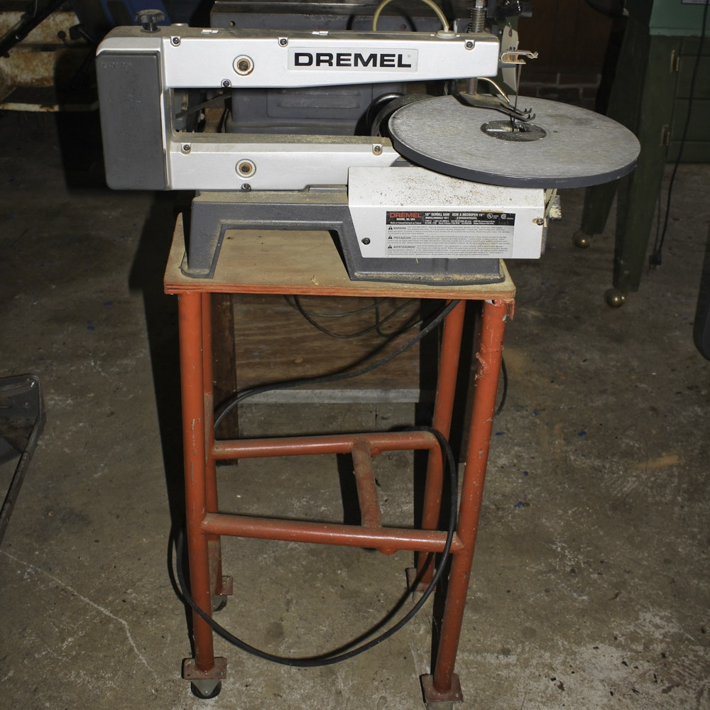 "16"" Dremel Model 1671 Two Speed Scroll Saw"