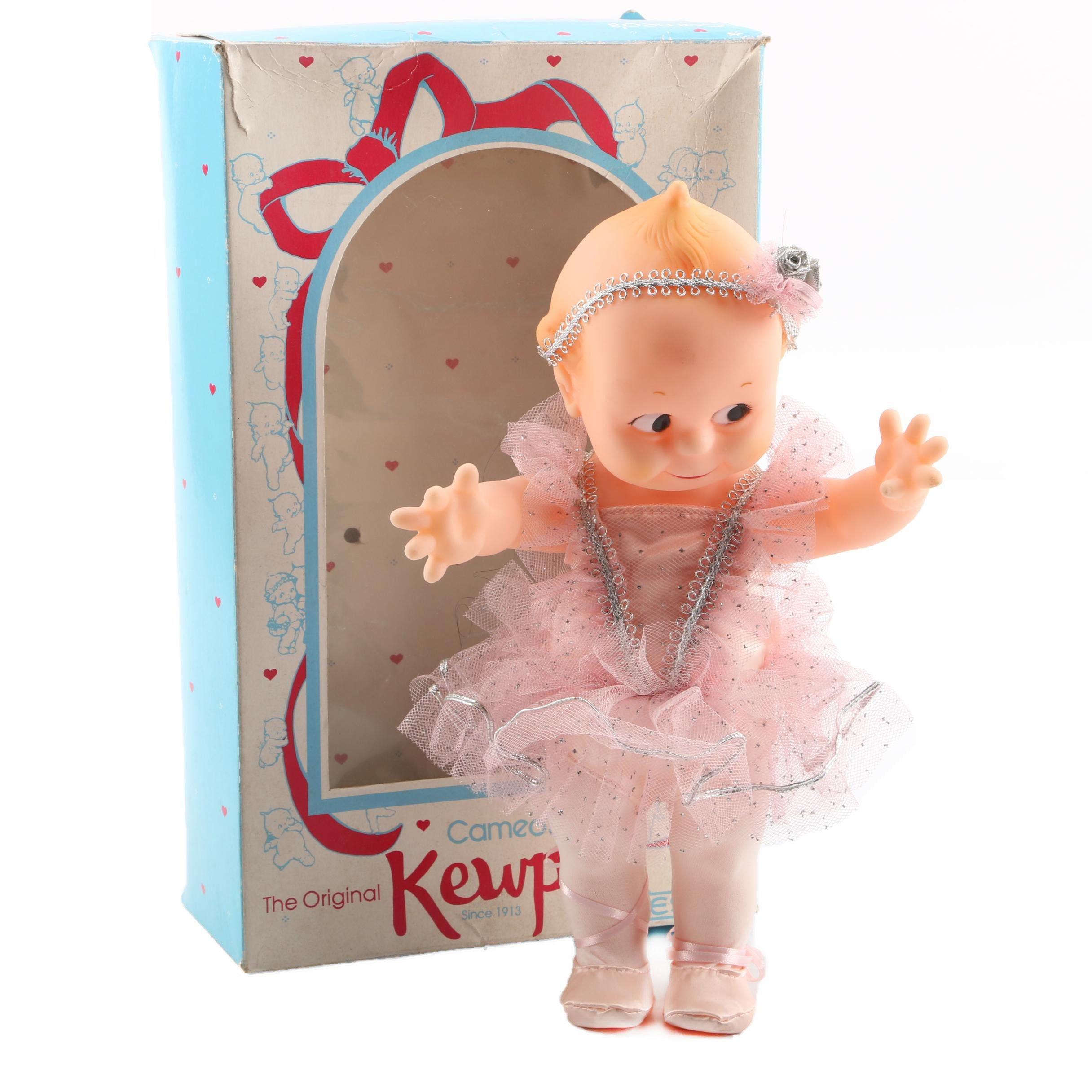 "Vintage Cameo's Ballerina ""Kewpie"" Doll by Jesco"