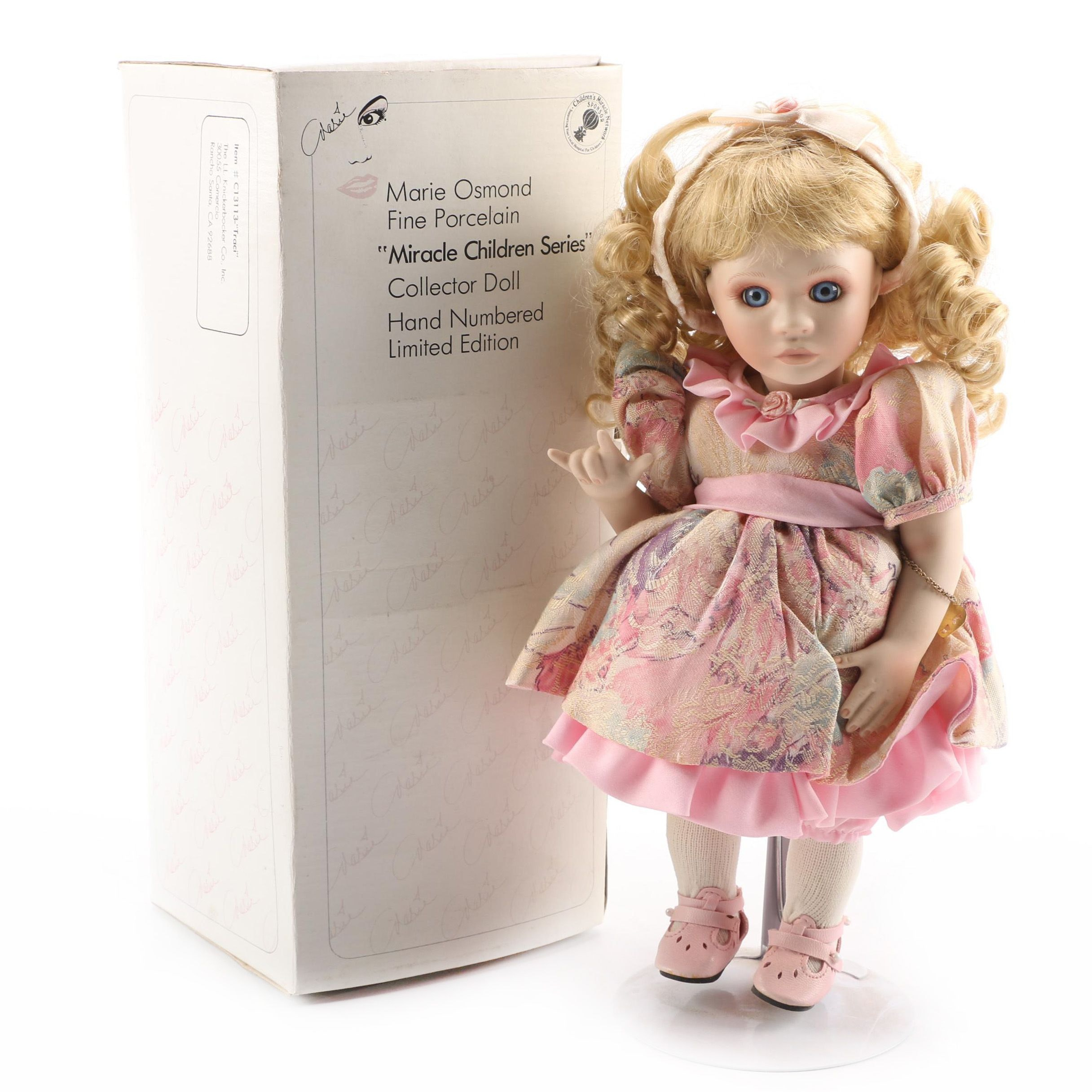 "Marie Osmond ""Traci"" Porcelain Doll"