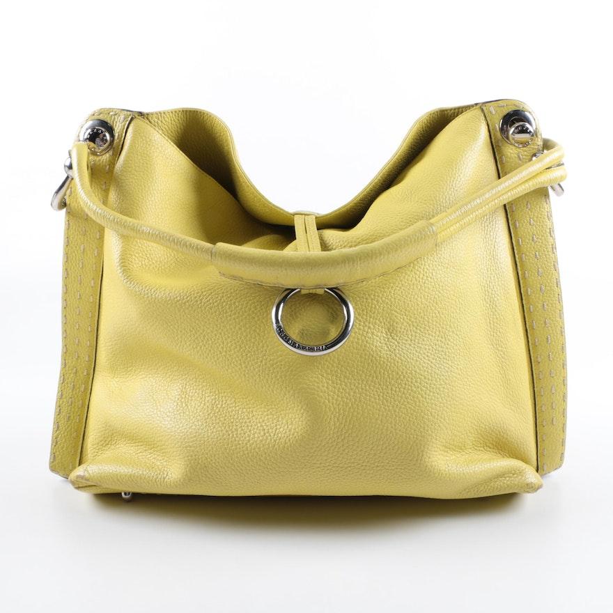 851827be05d1 BCBG Max Azria Signature Leather Hobo Bag   EBTH