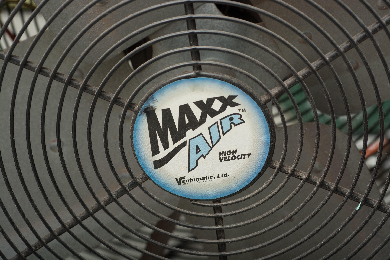 """Maxx Air"" Shop Fan by Ventamatic, Ltd."