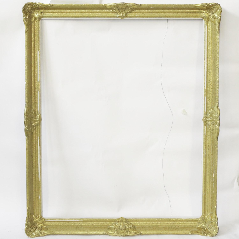 Baroque Gold Finished Frame