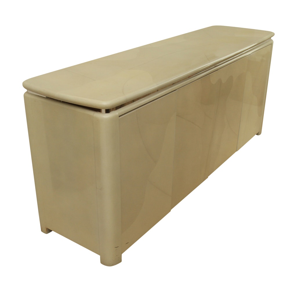 Contemporary Style Lacquered Buffet