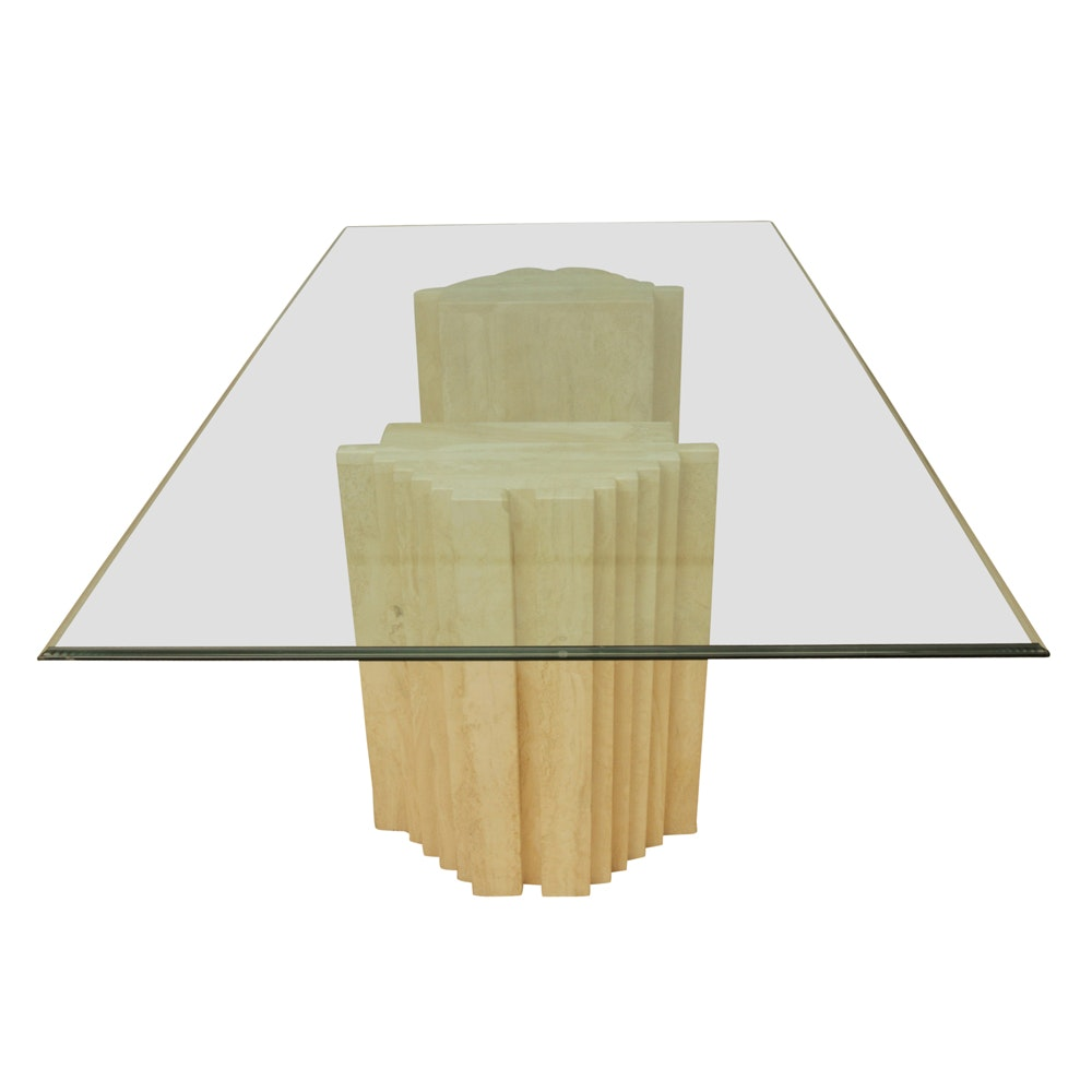 Contemporary Sculptural Dining Table