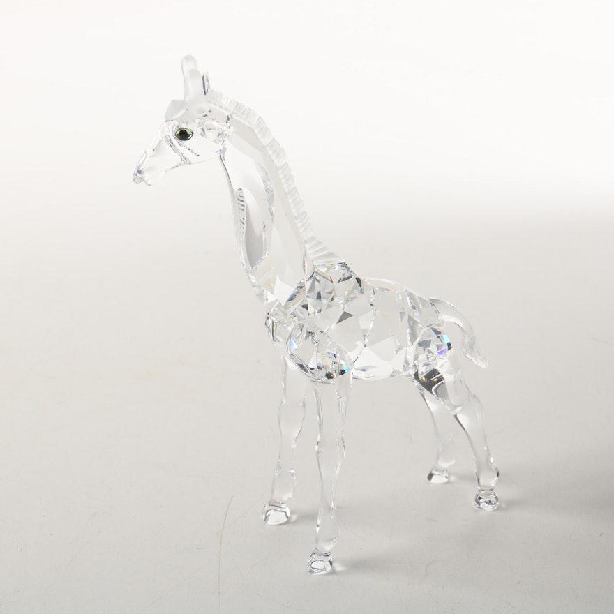 1ac279bf5 Swarovski Crystal Giraffe Figurine   EBTH