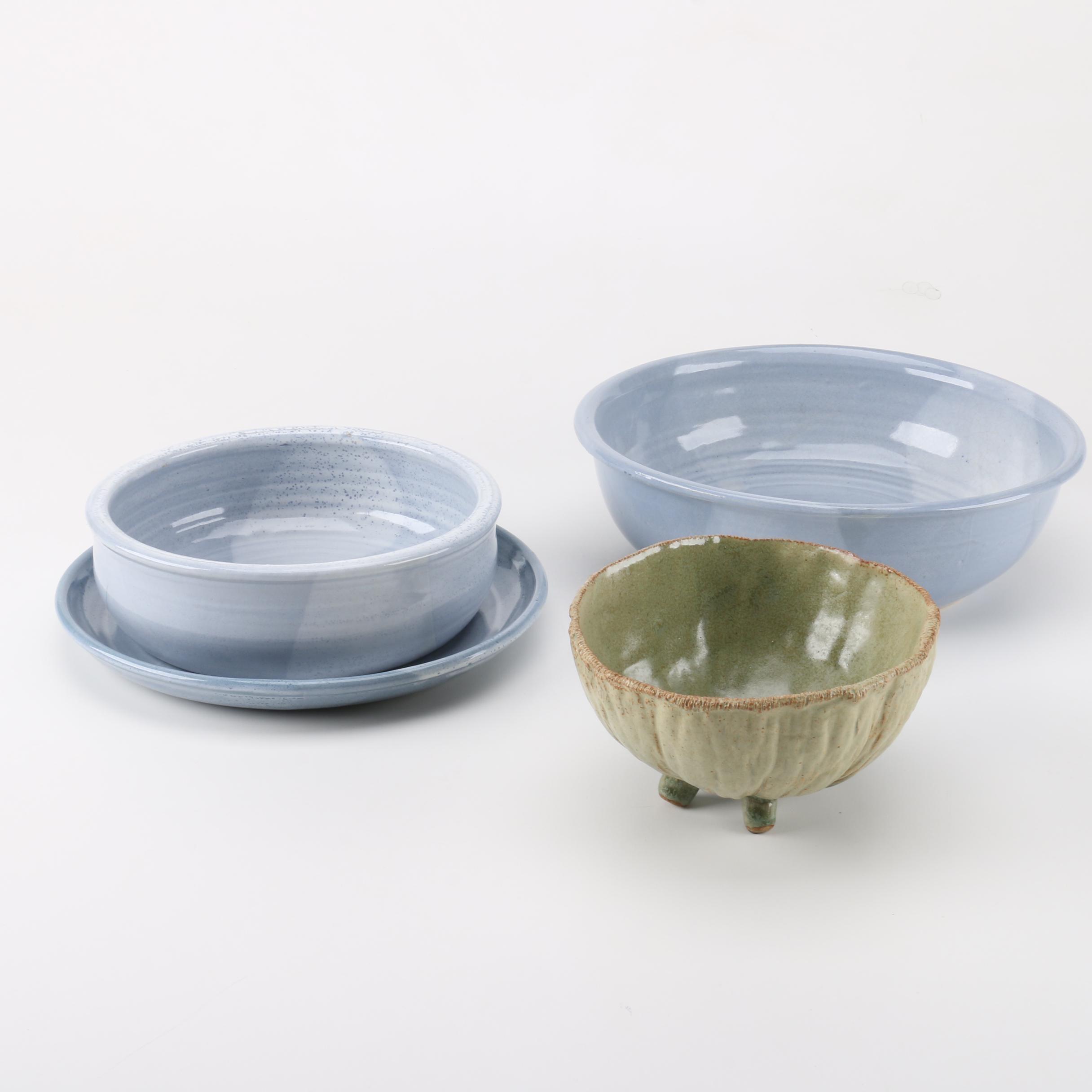 Wheel Thrown Stoneware Bowls
