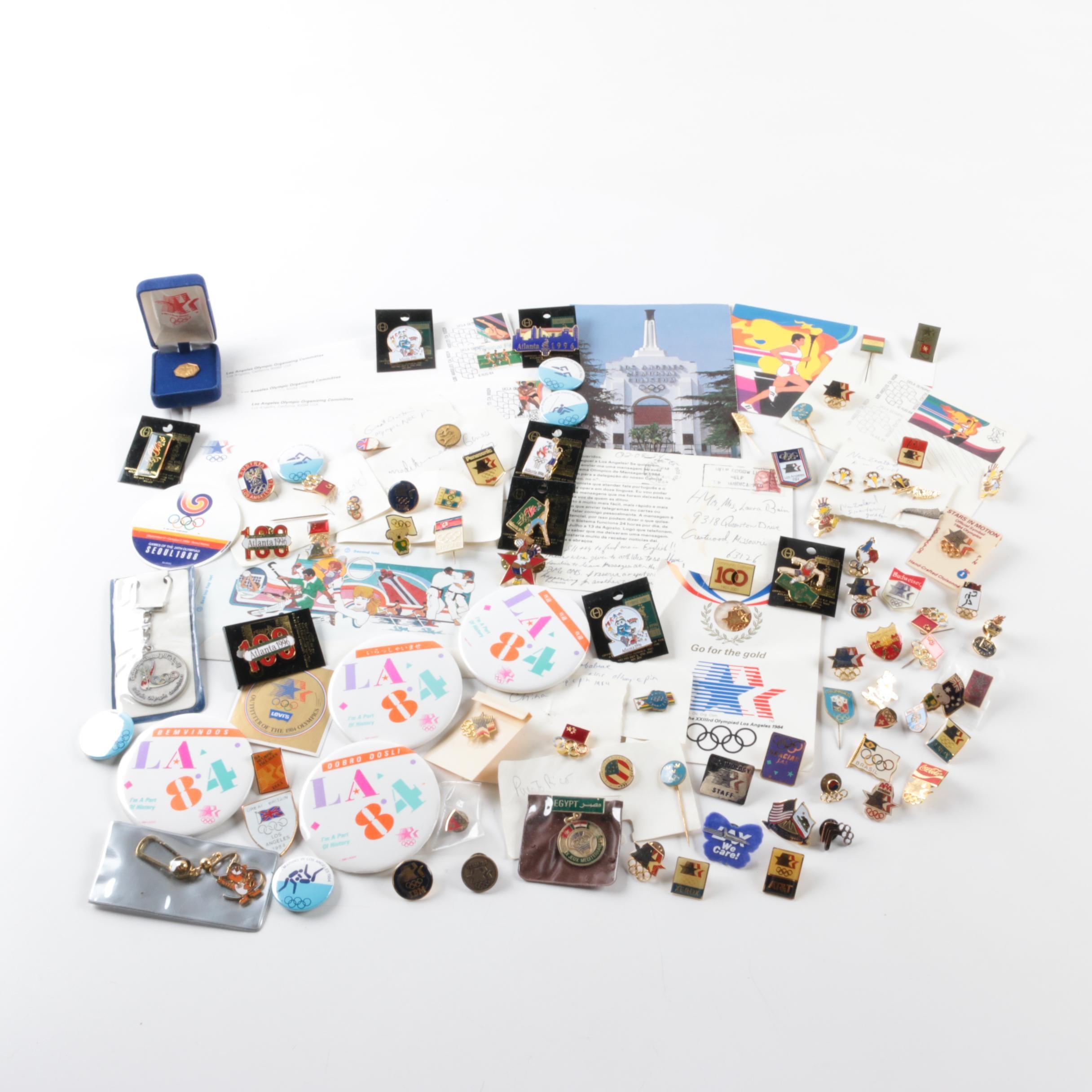 1984-1996 Summer Olympic Memorabilia