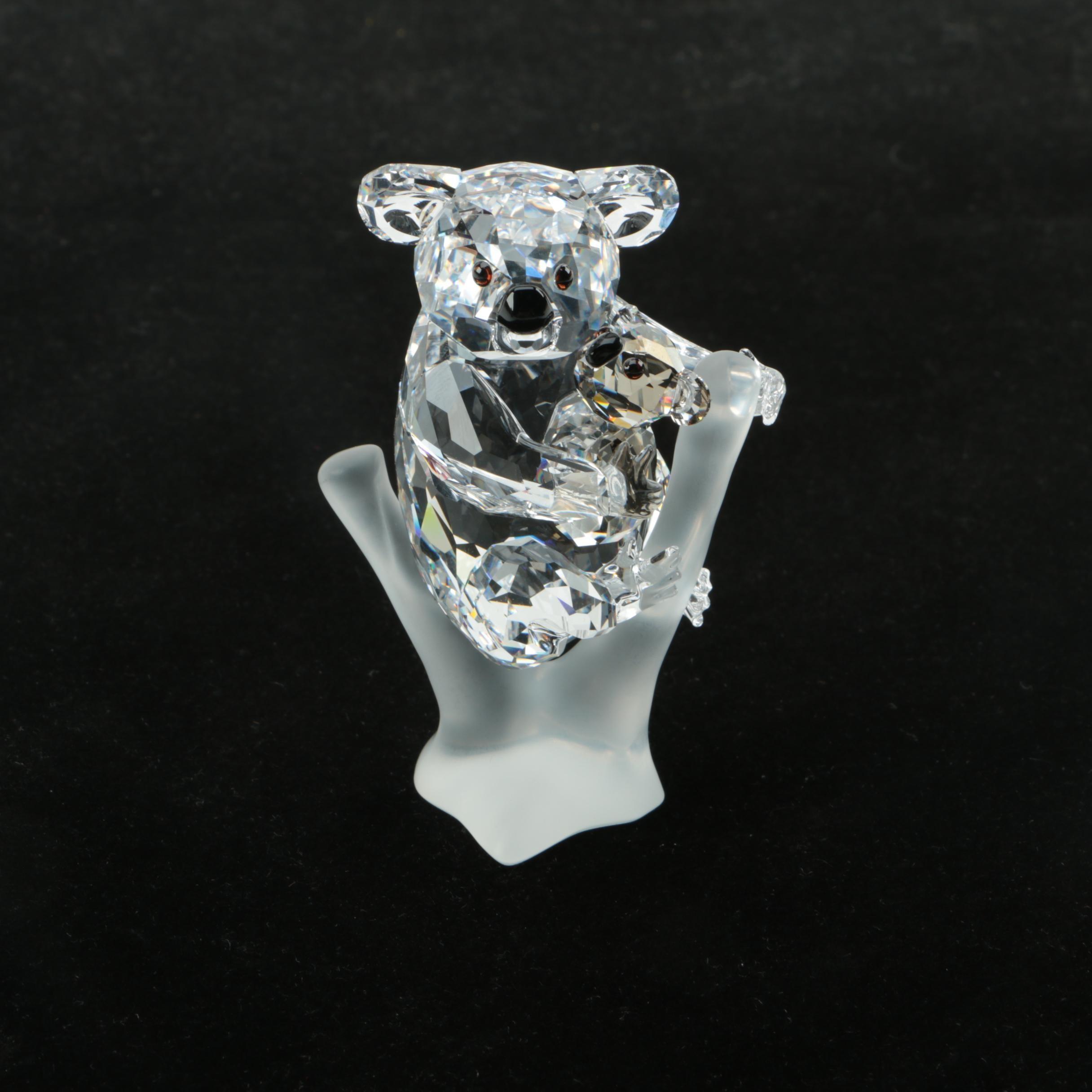 Swarovski Crystal Koala Figurine