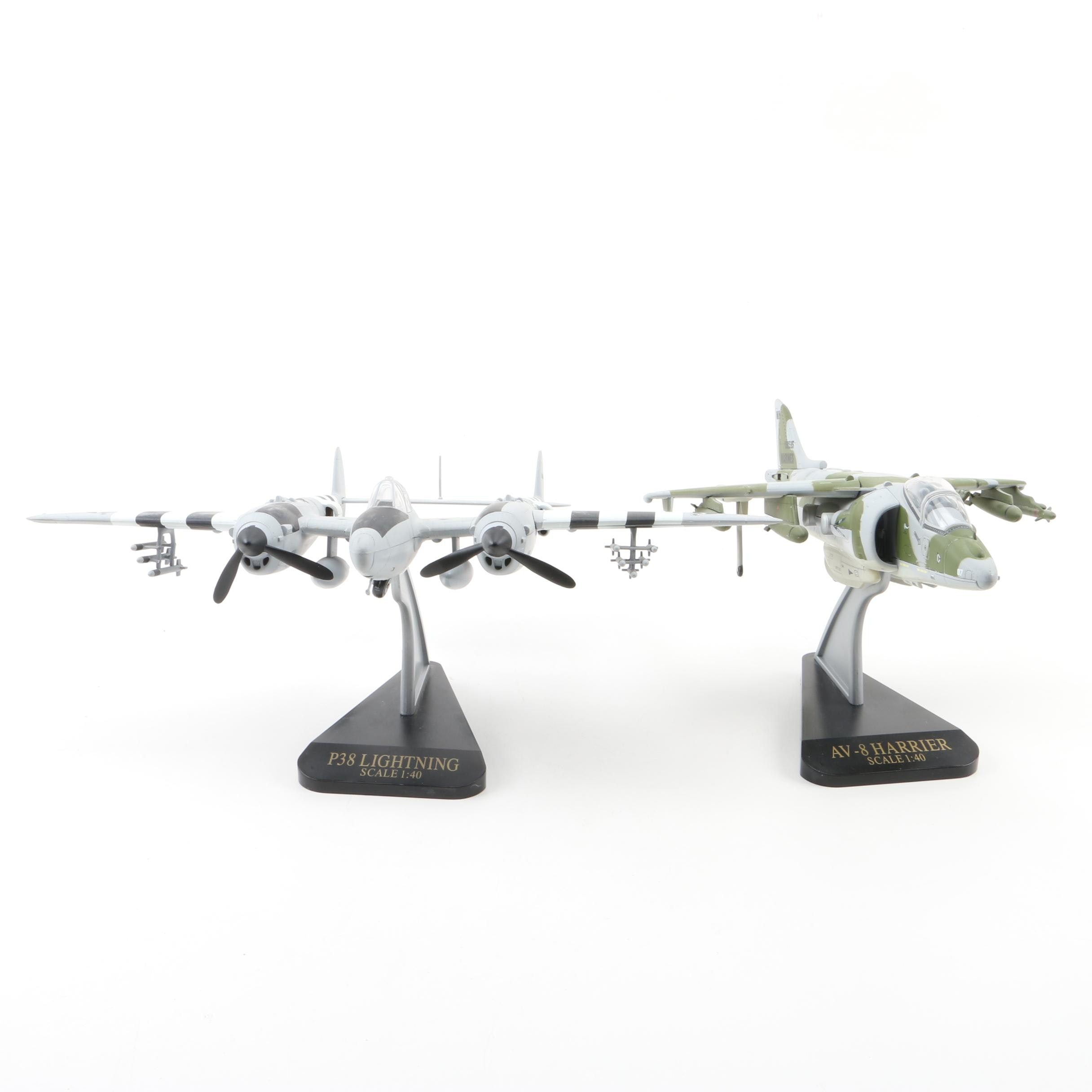 Die-Cast Military Planes