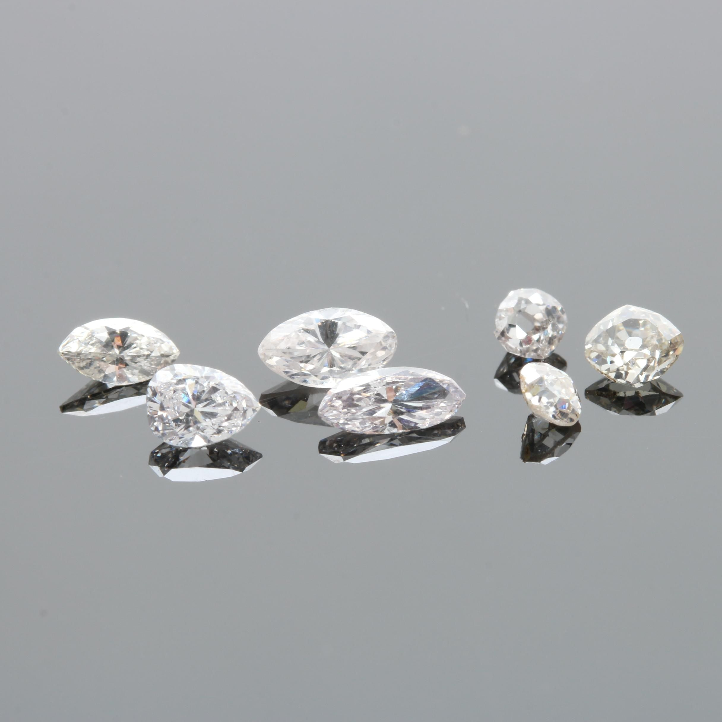 1.36 CTW Loose Diamonds