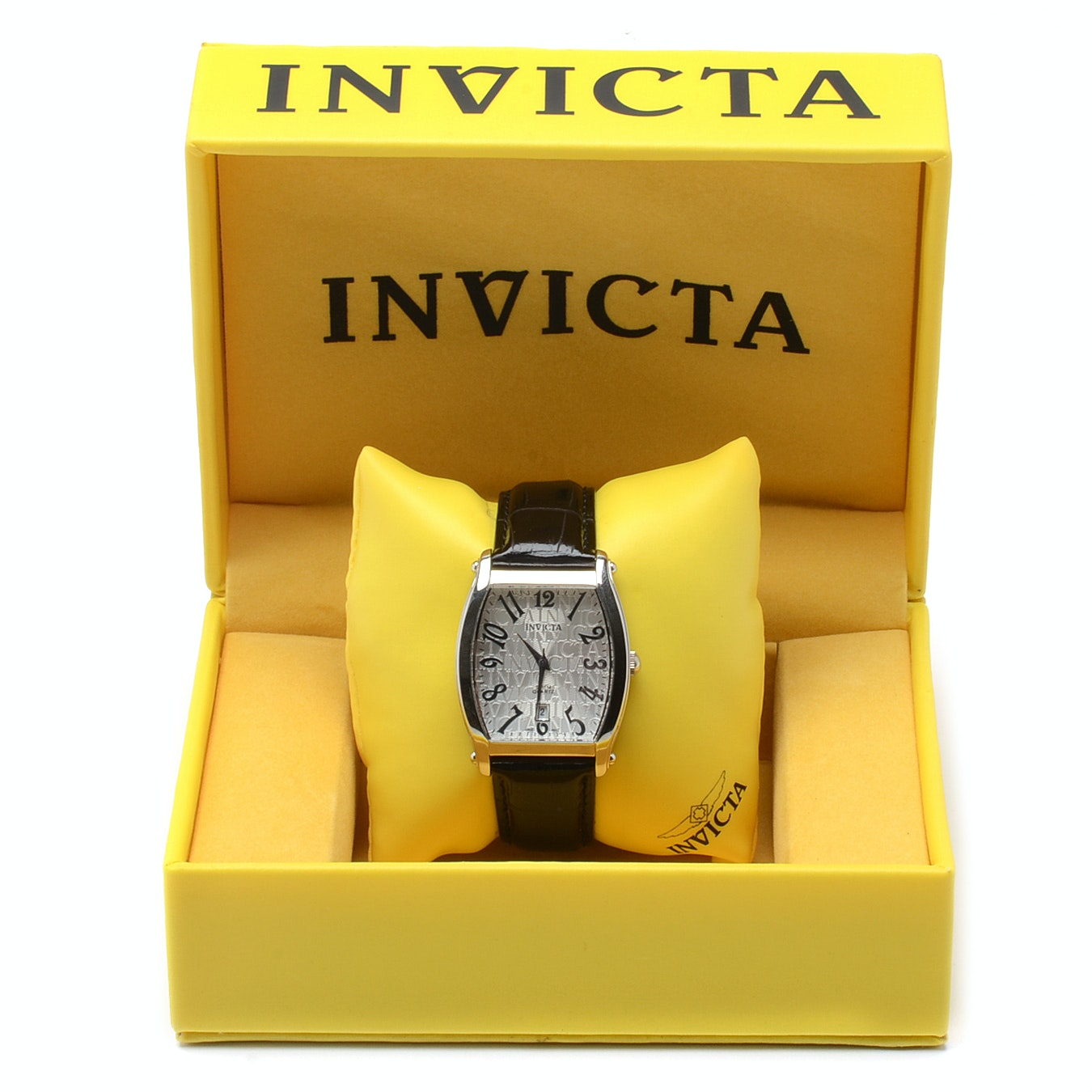 Invicta Stainless Steel Quartz Wristwatch with Box
