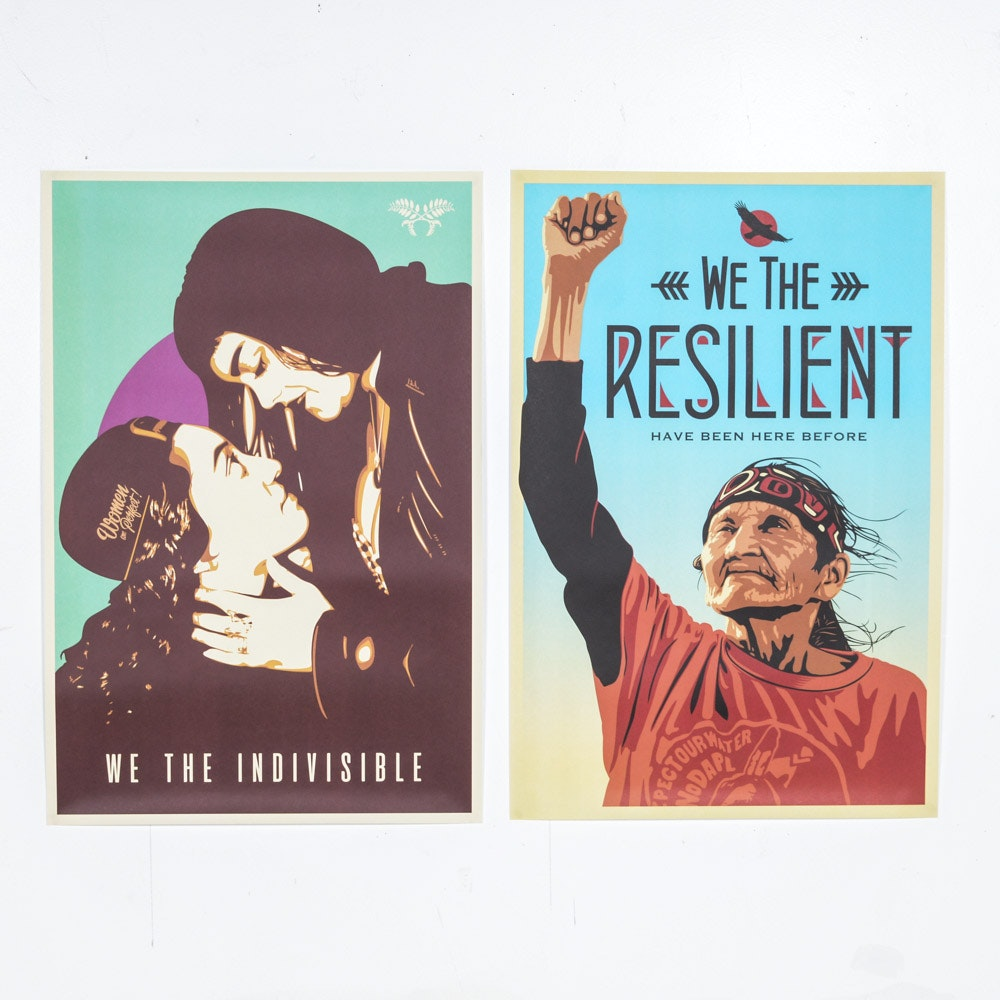 "Offset Prints ""We the Resilient"" and ""We the Indivisible"""