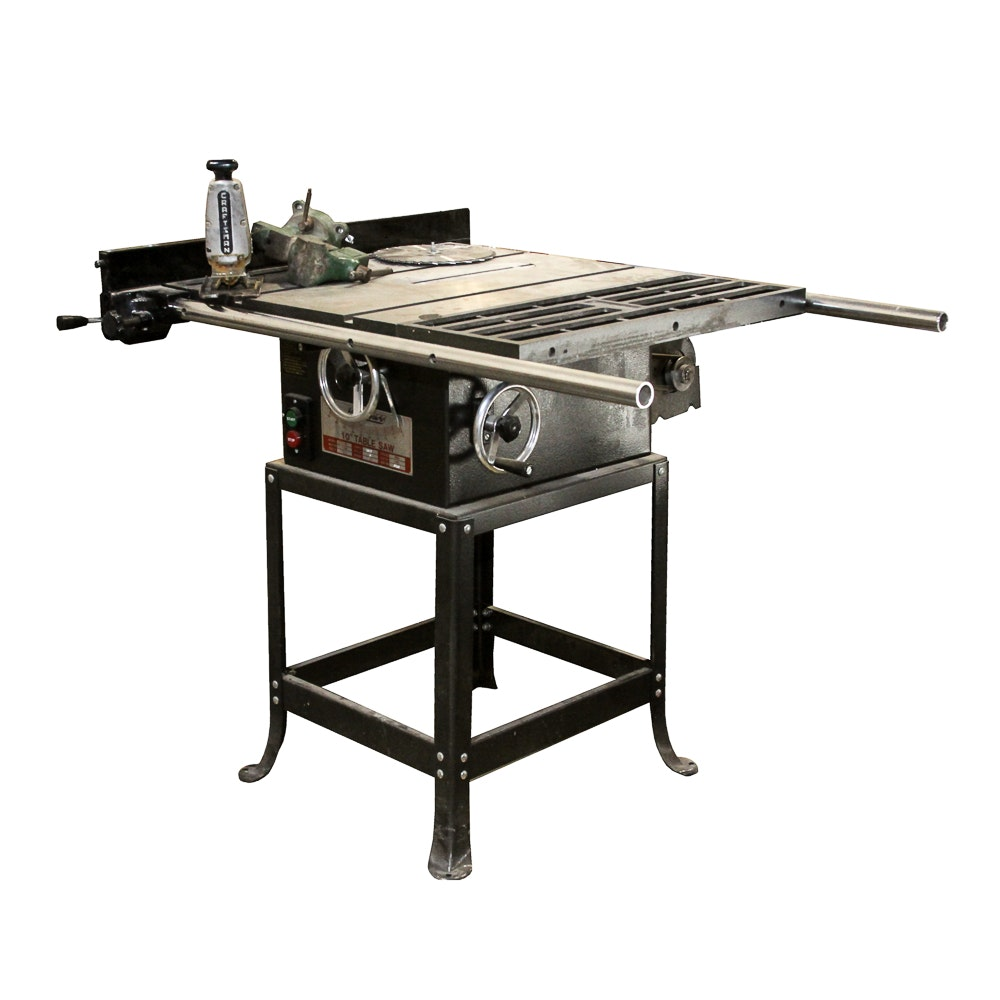 Express Table Saw with Clamp and Scroller Saw