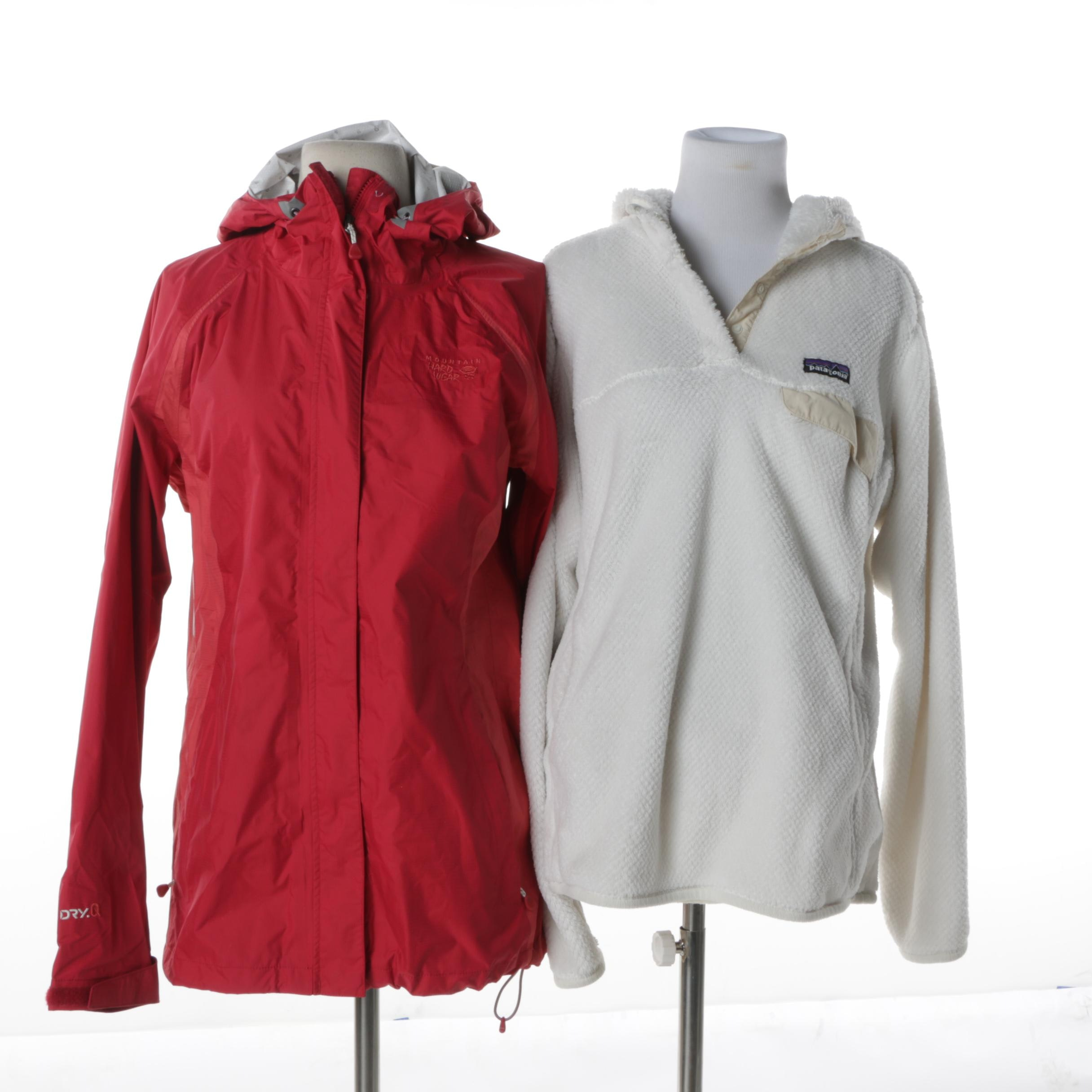 Women's Outerwear Including Patagonia and Mountain Hard Wear