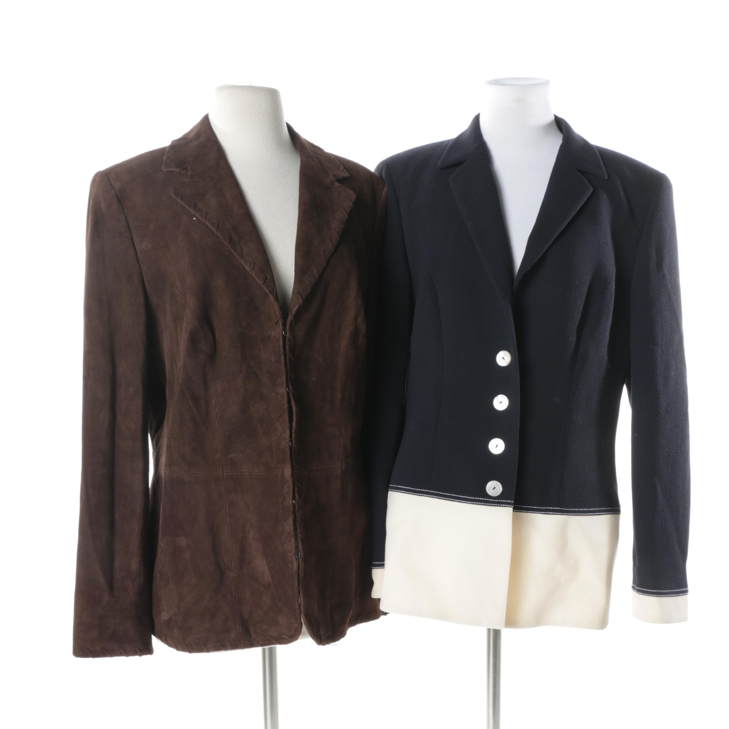 Women's Escada Suede and Suit Jackets
