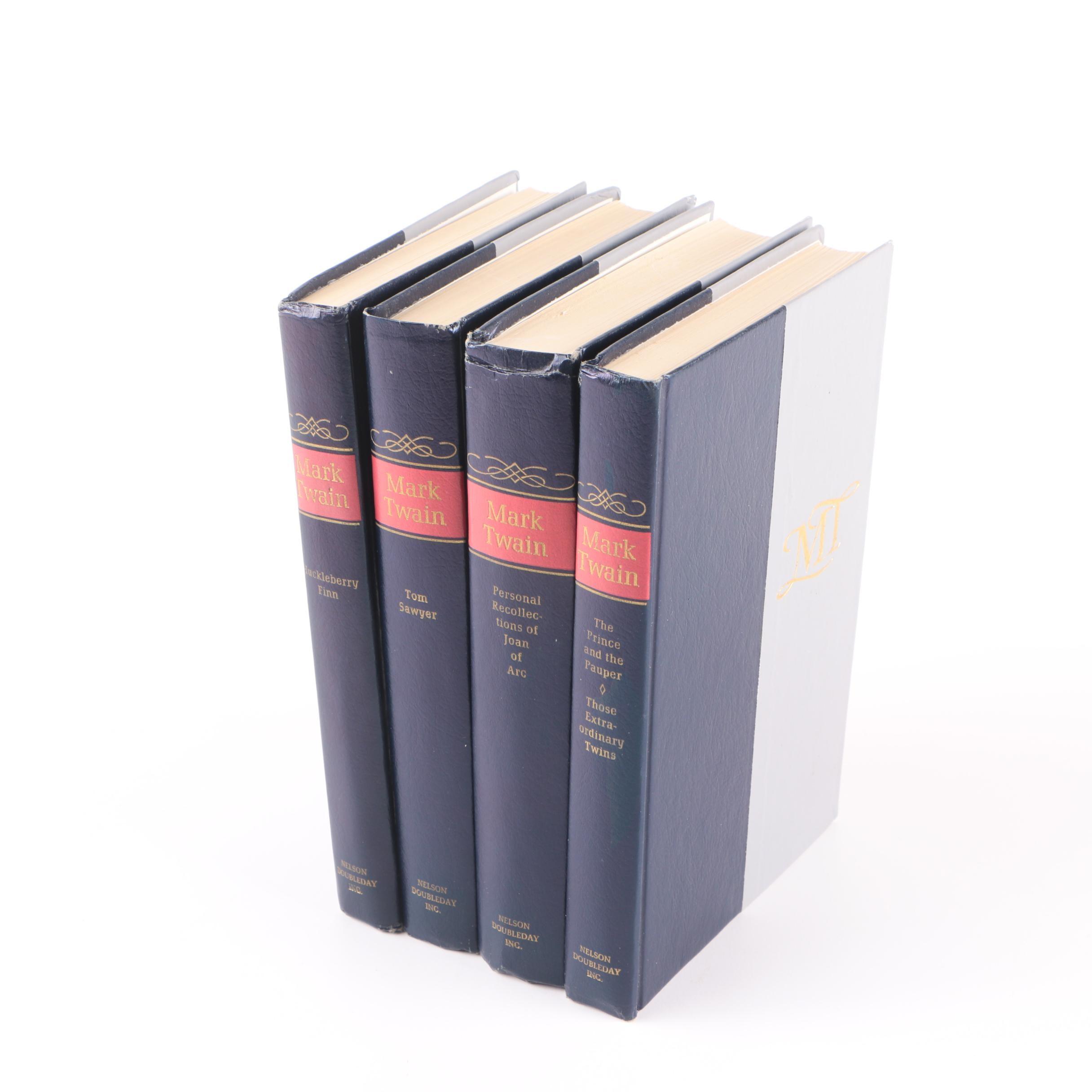 """The Complete Novels of Mark Twain"" Multi-Volume Set"