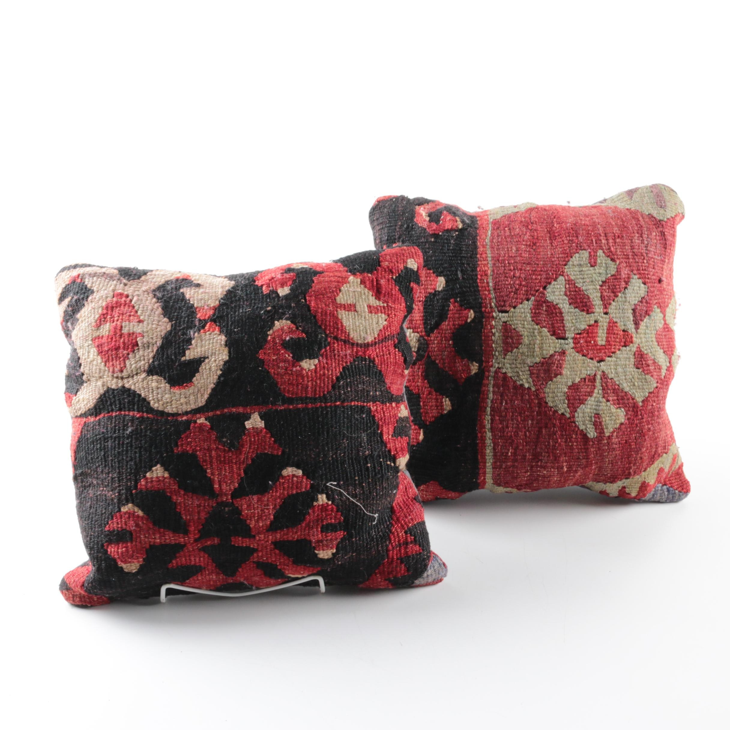 Pair of Handwoven Pillows