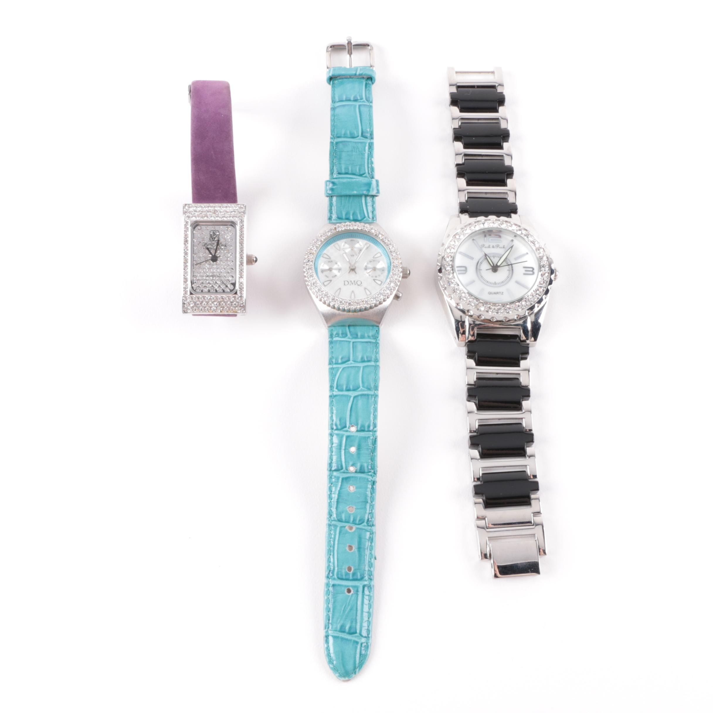 Costume Wristwatches Including Victoria Wieck