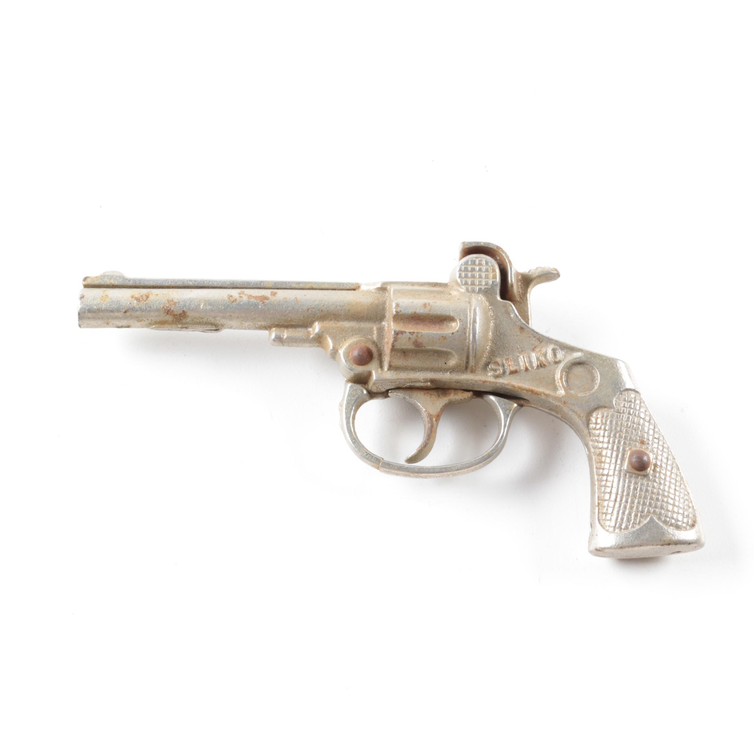 Vintage Kenton Sliko Cast Iron Cap Gun, C. 1923