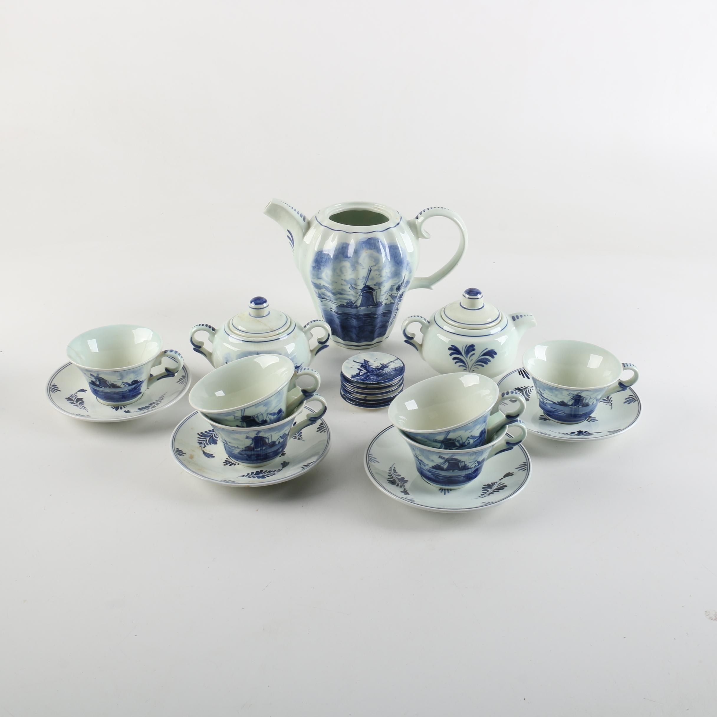 Delft Ceramic Tea Ware