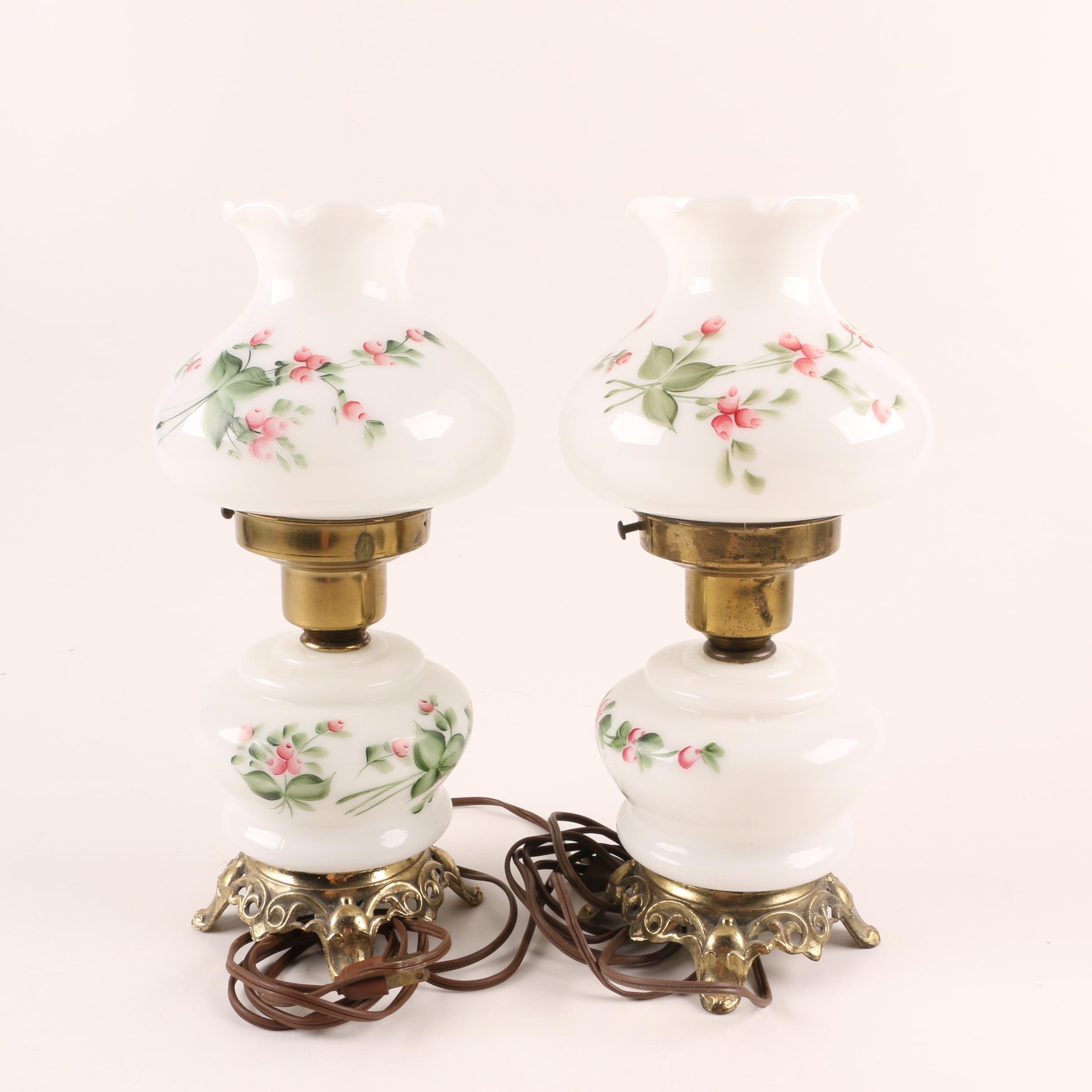 Vintage Parlor Style Accent Lamps