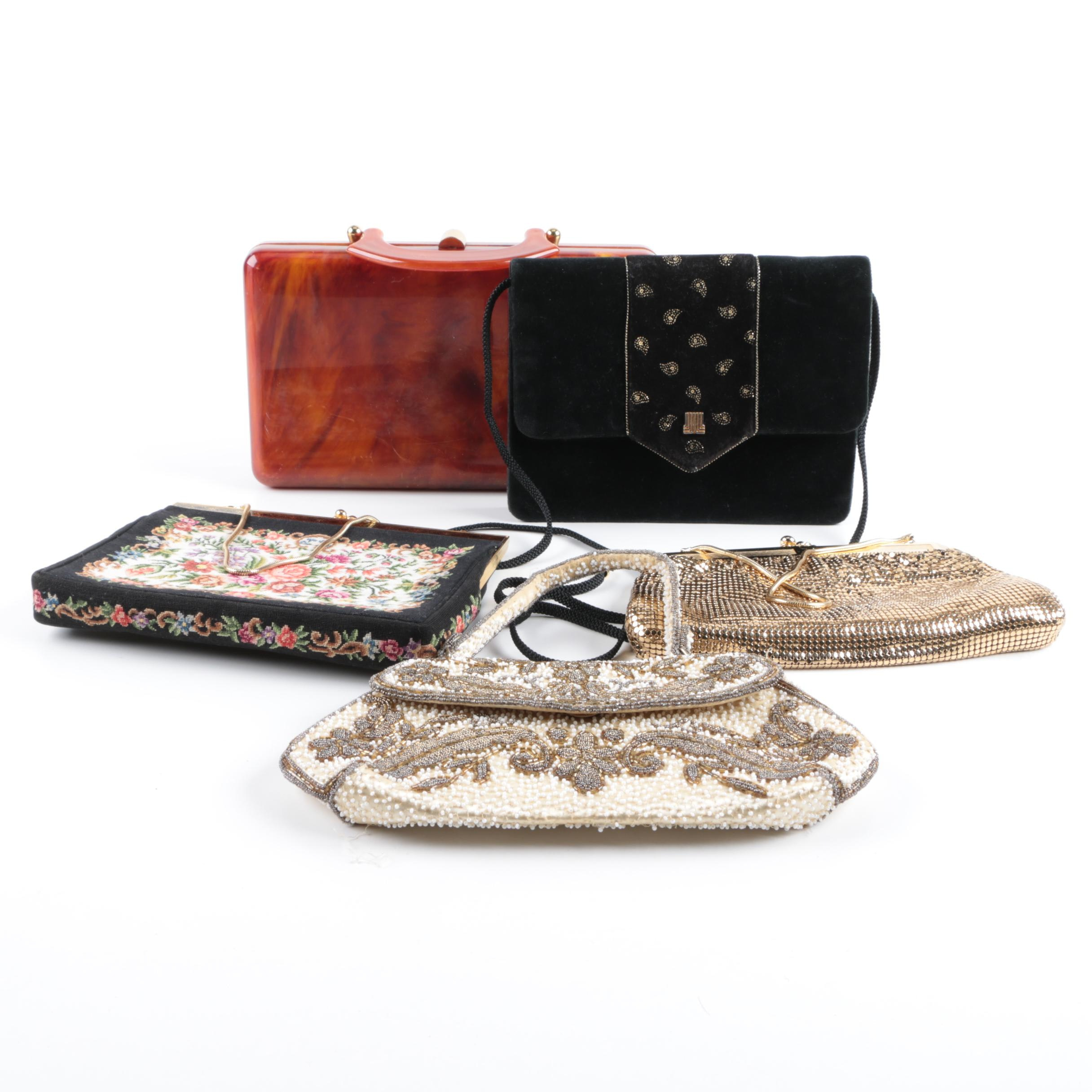 Women's Vintage Evening Handbags Including Lanvin Paris