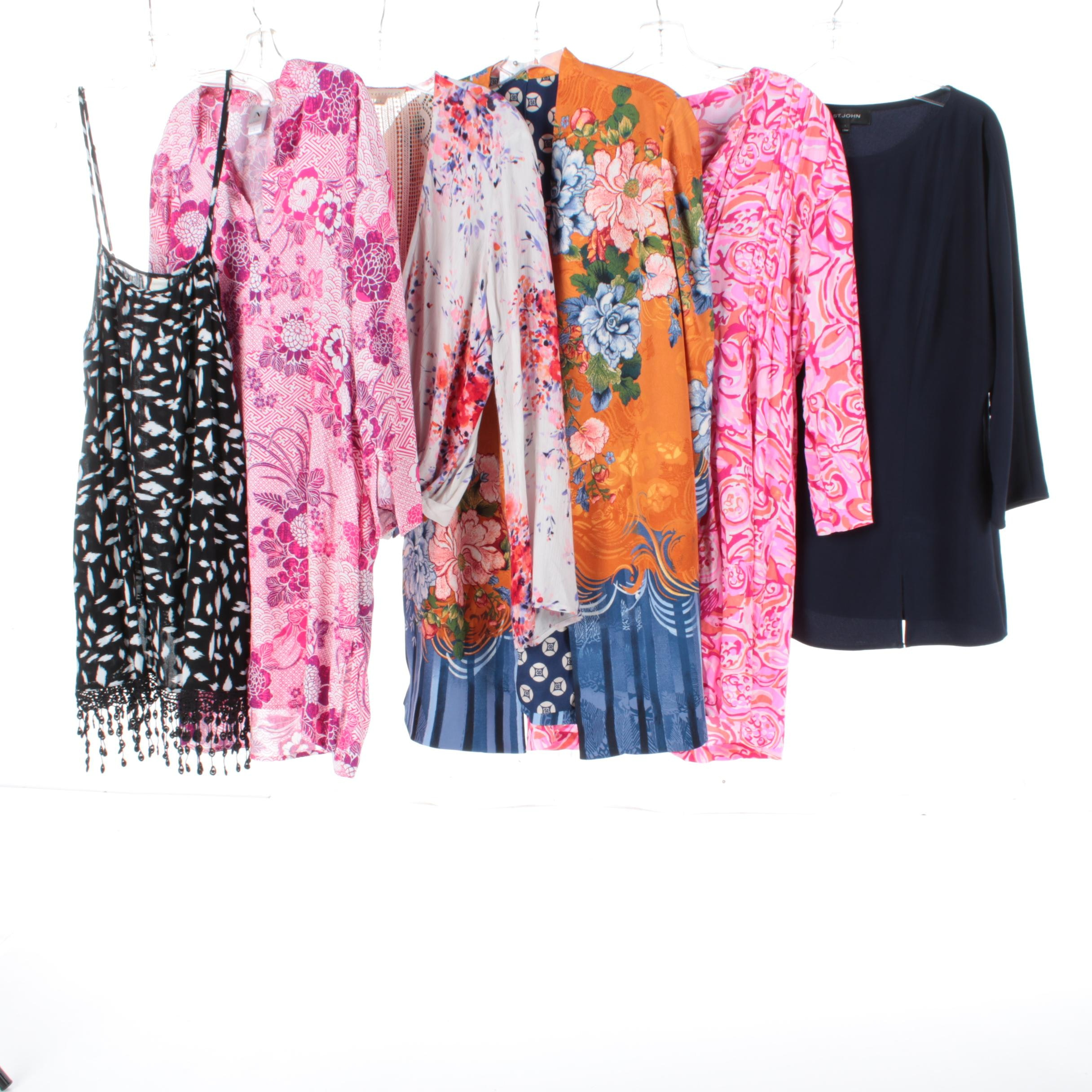 Women's Tops, Tunics, and Caftans Including St. John and Lilly Pulitzer