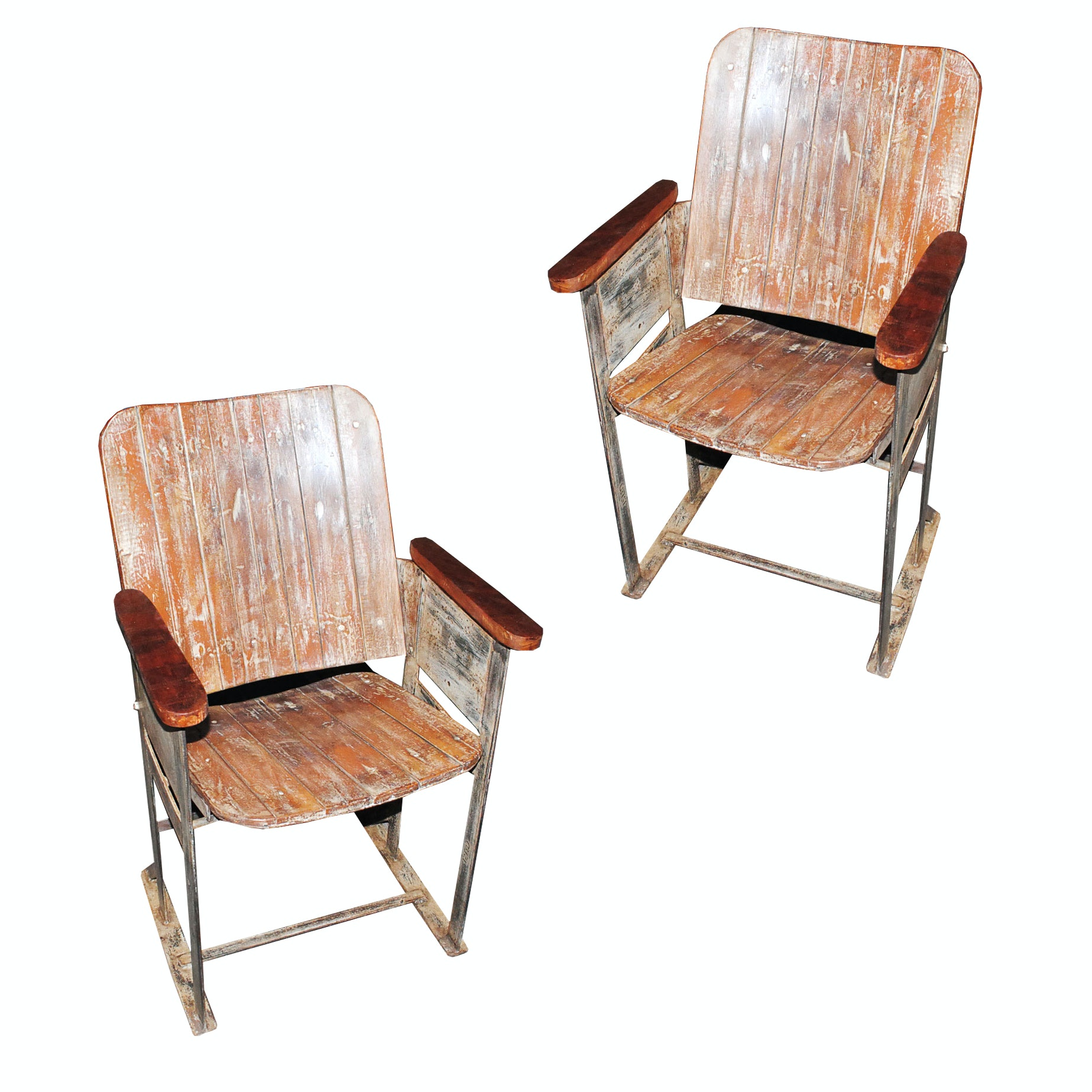 Theater Style Armchairs