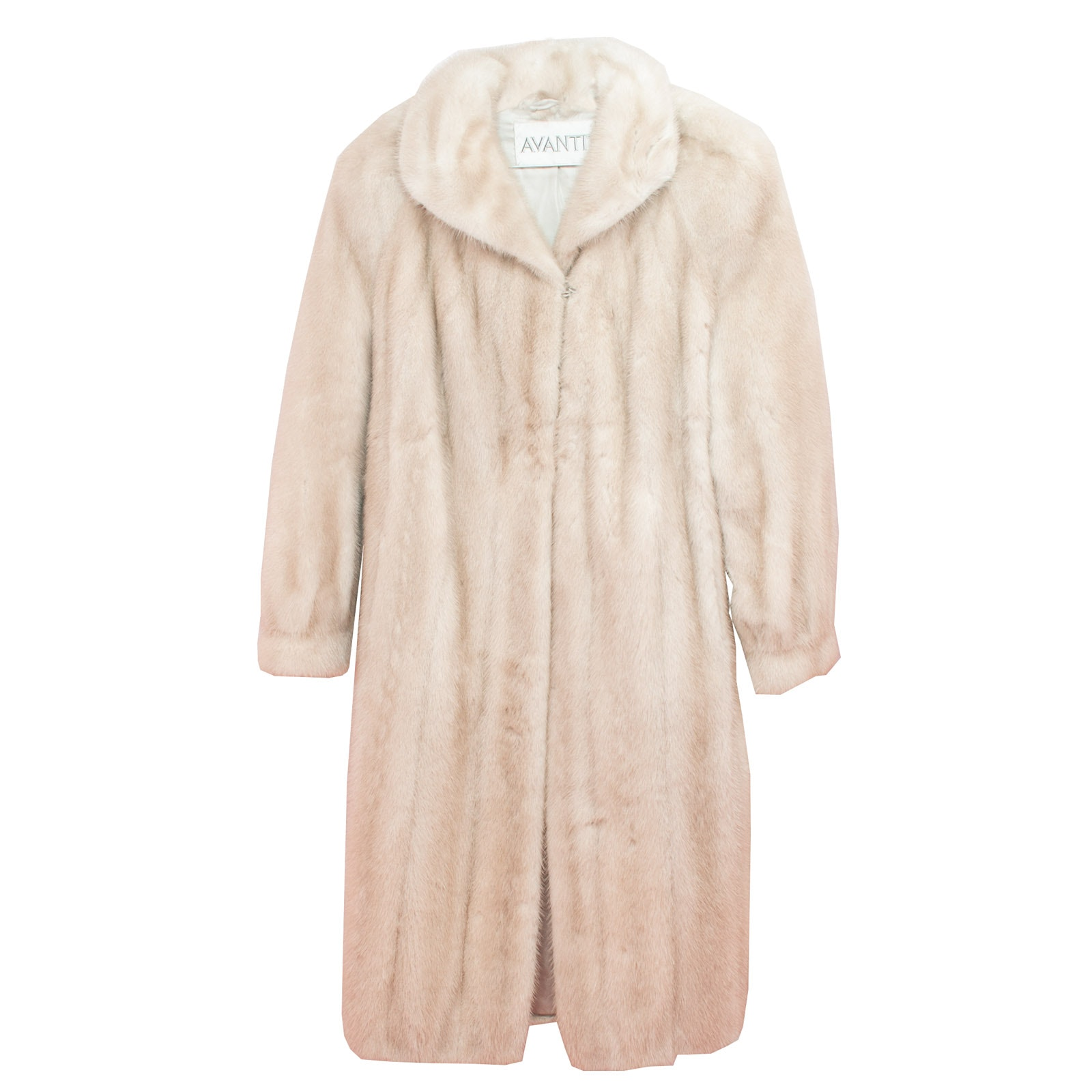 Avanti Light Blonde Mink Fur Coat