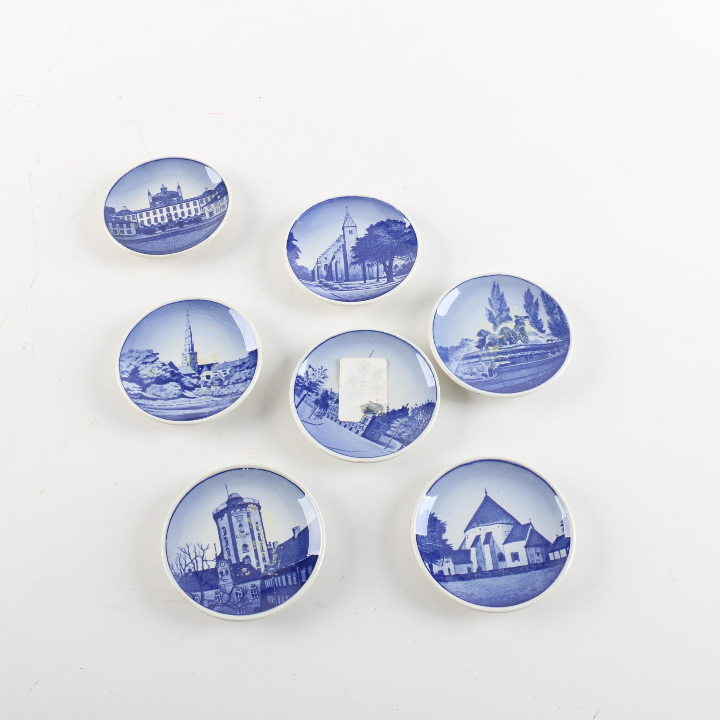 1969-74 Royal Copenhagen Earthenware Collector's Plates