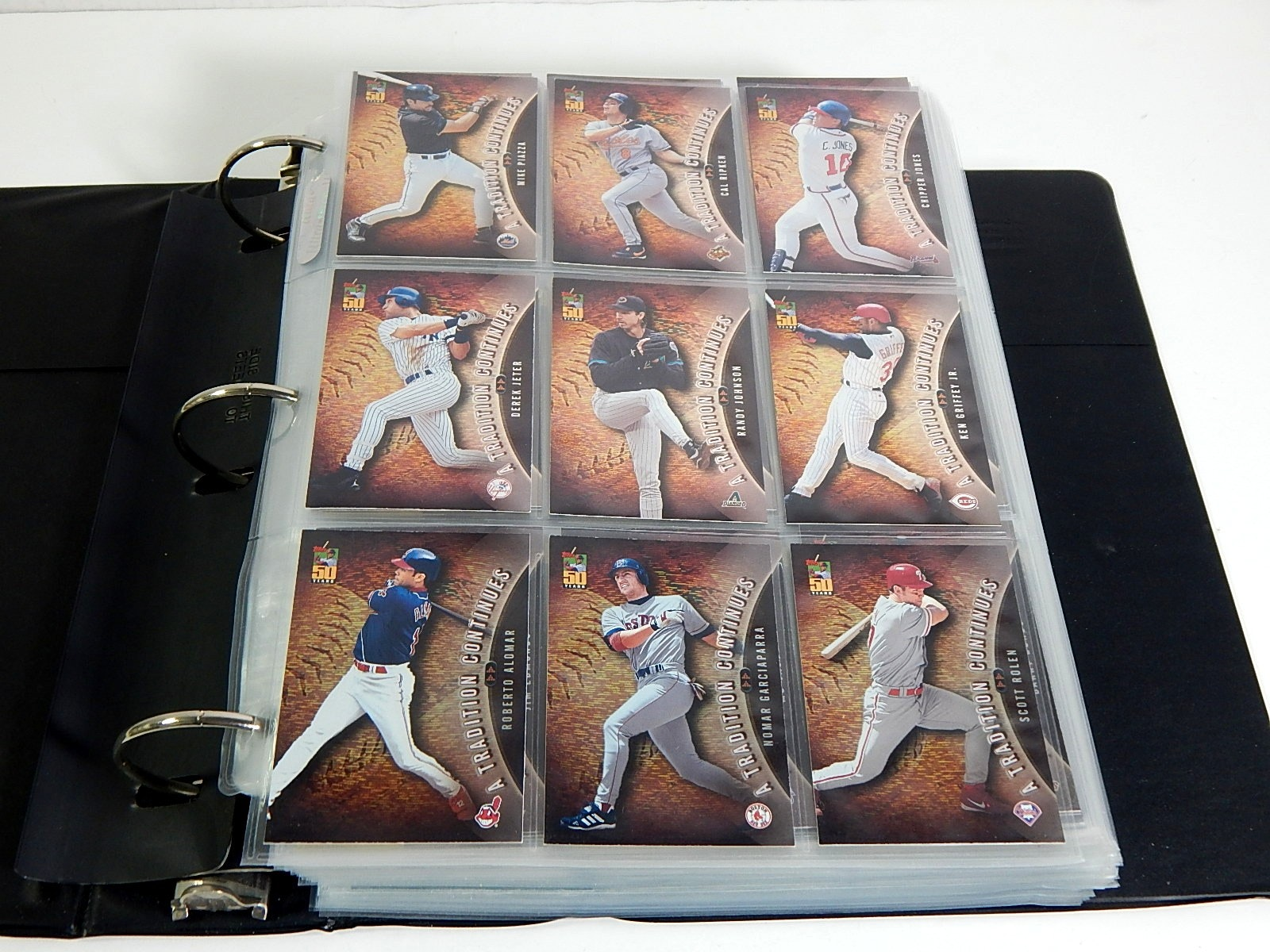 Album with Baseball Sets from 2000s