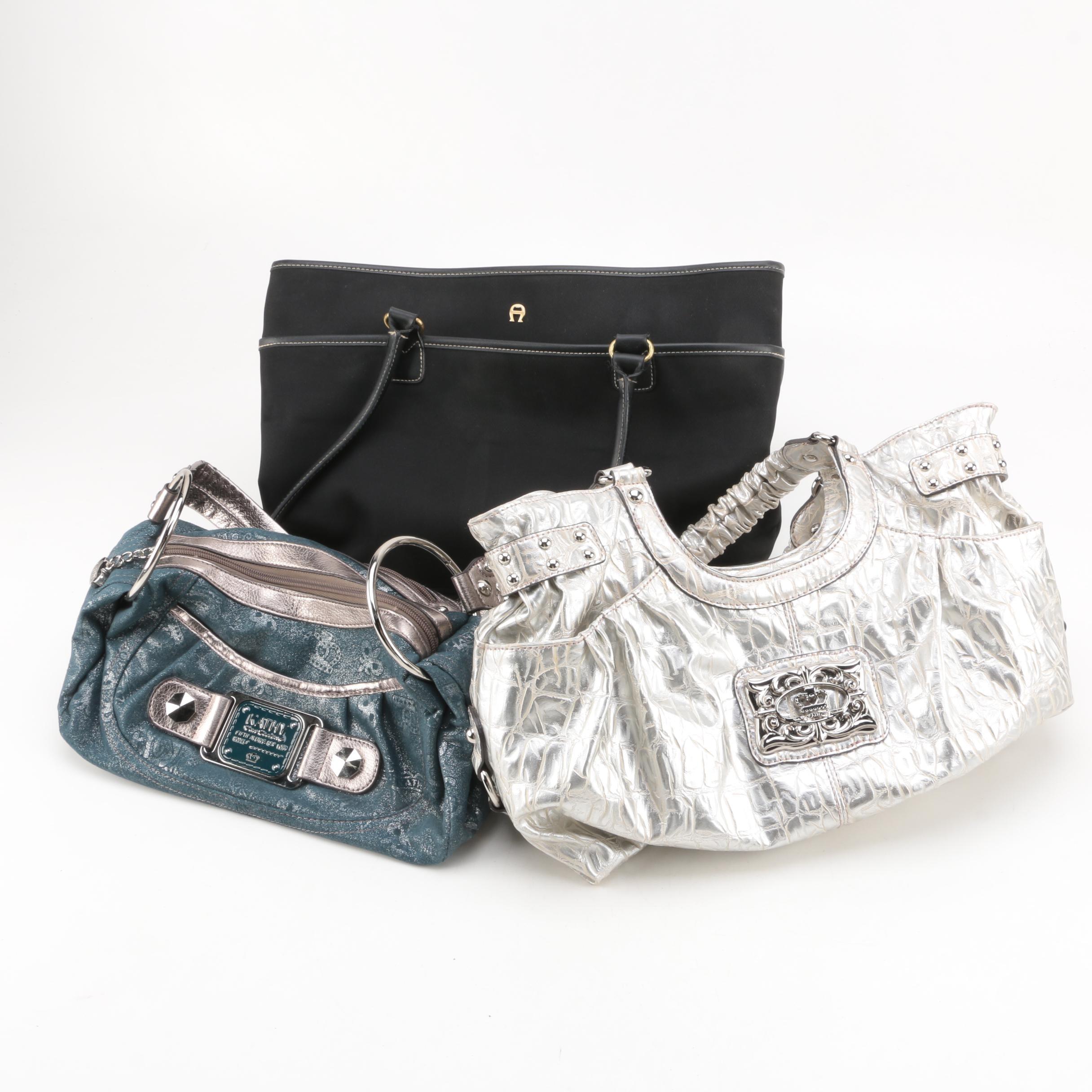 Women's Handbags Including Kathy Van Zeeland