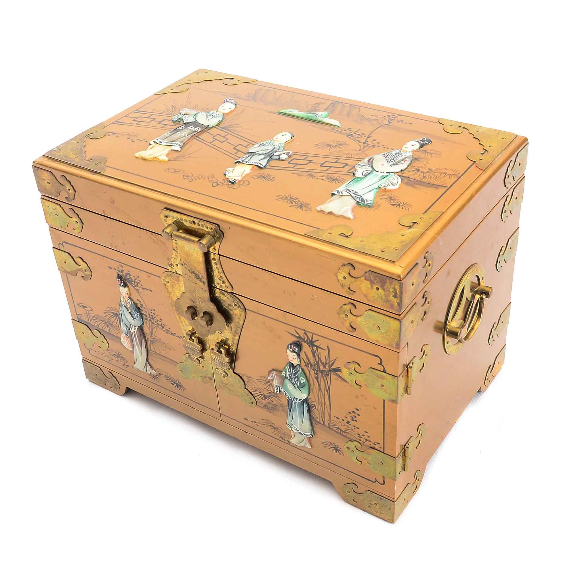 Chinese Jewelry Box EBTH