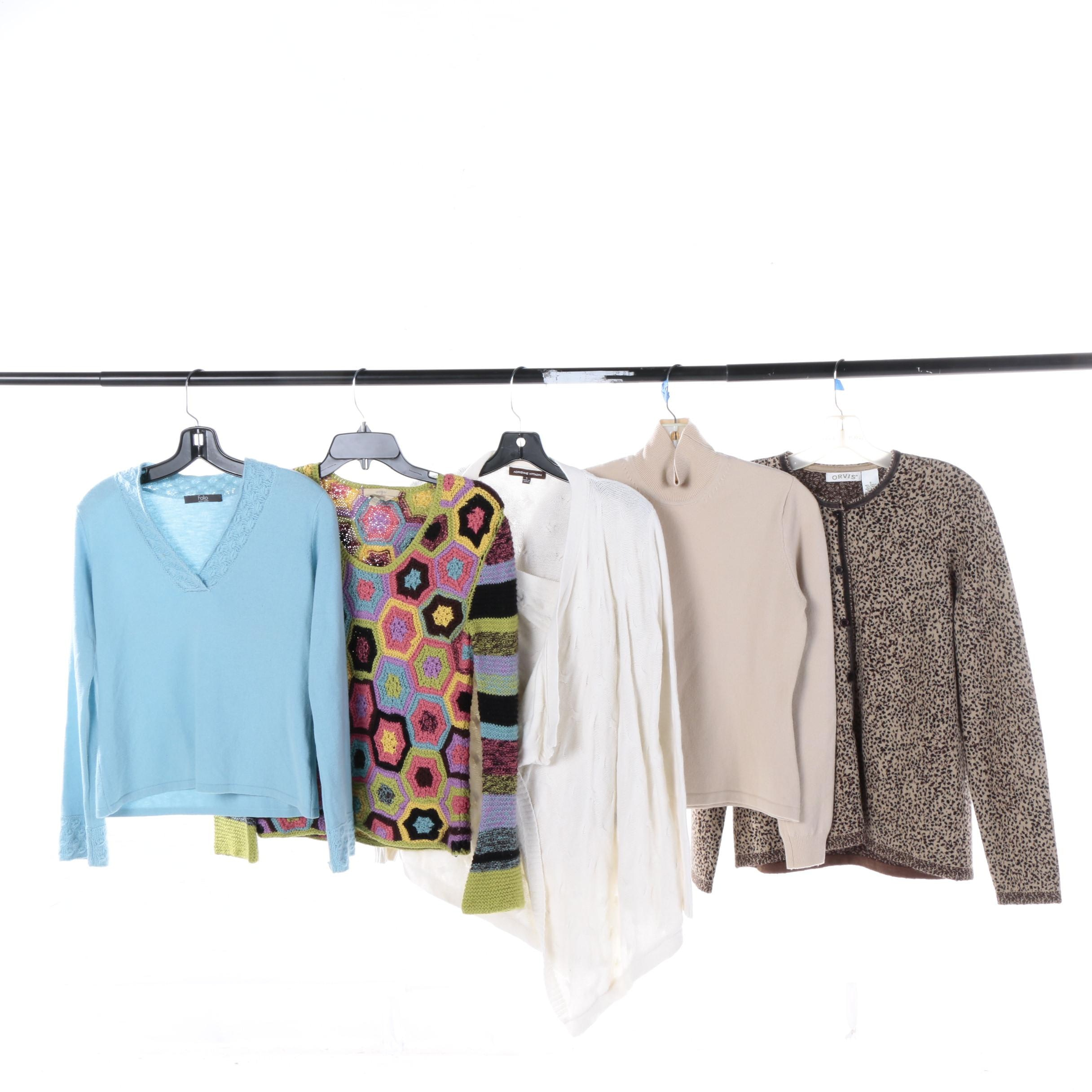 Women's Sweaters and Cardigans Including Orvis and Adrienne Vittadini