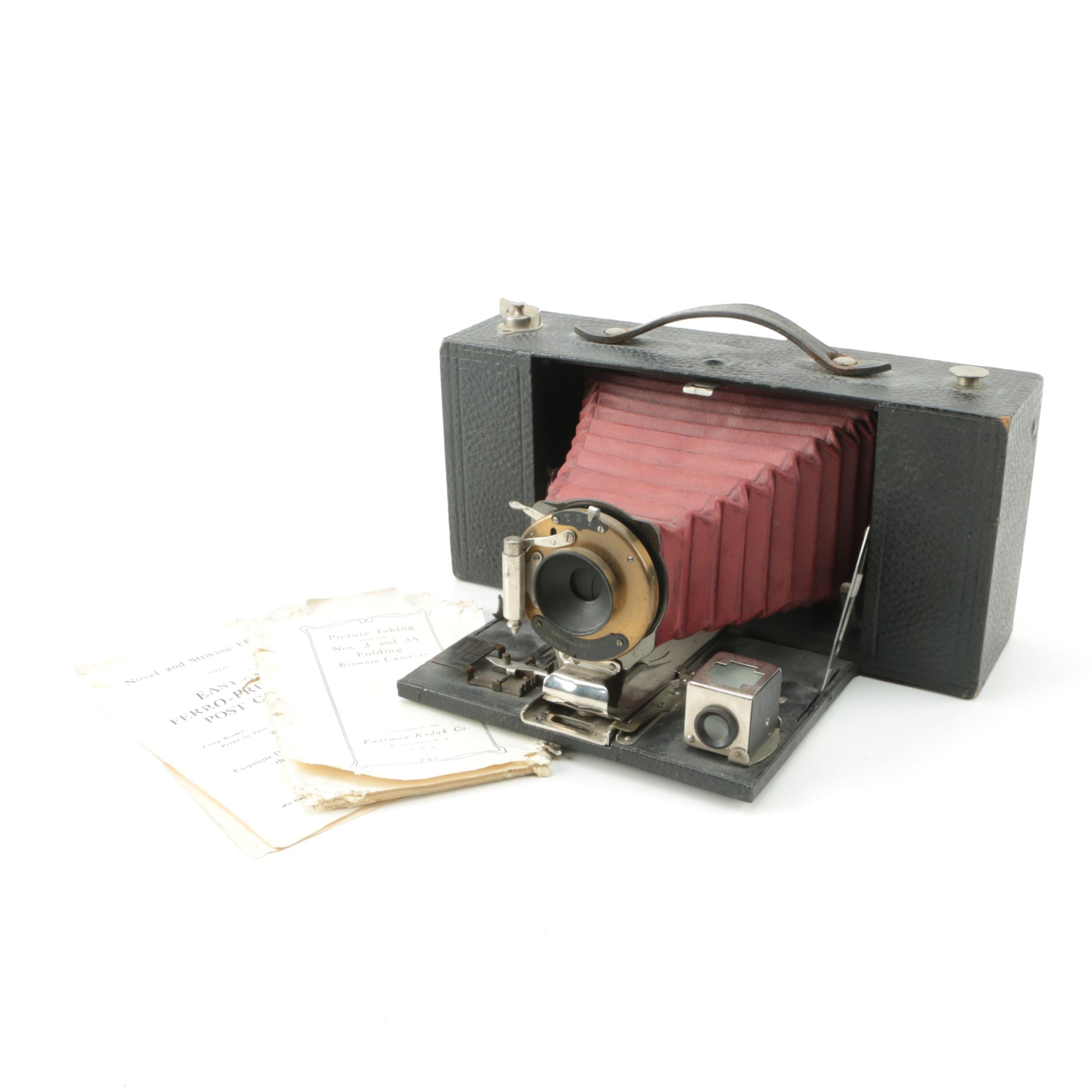 Vintage Eastman Kodak NO. 3-A Folding Brownie Still Camera