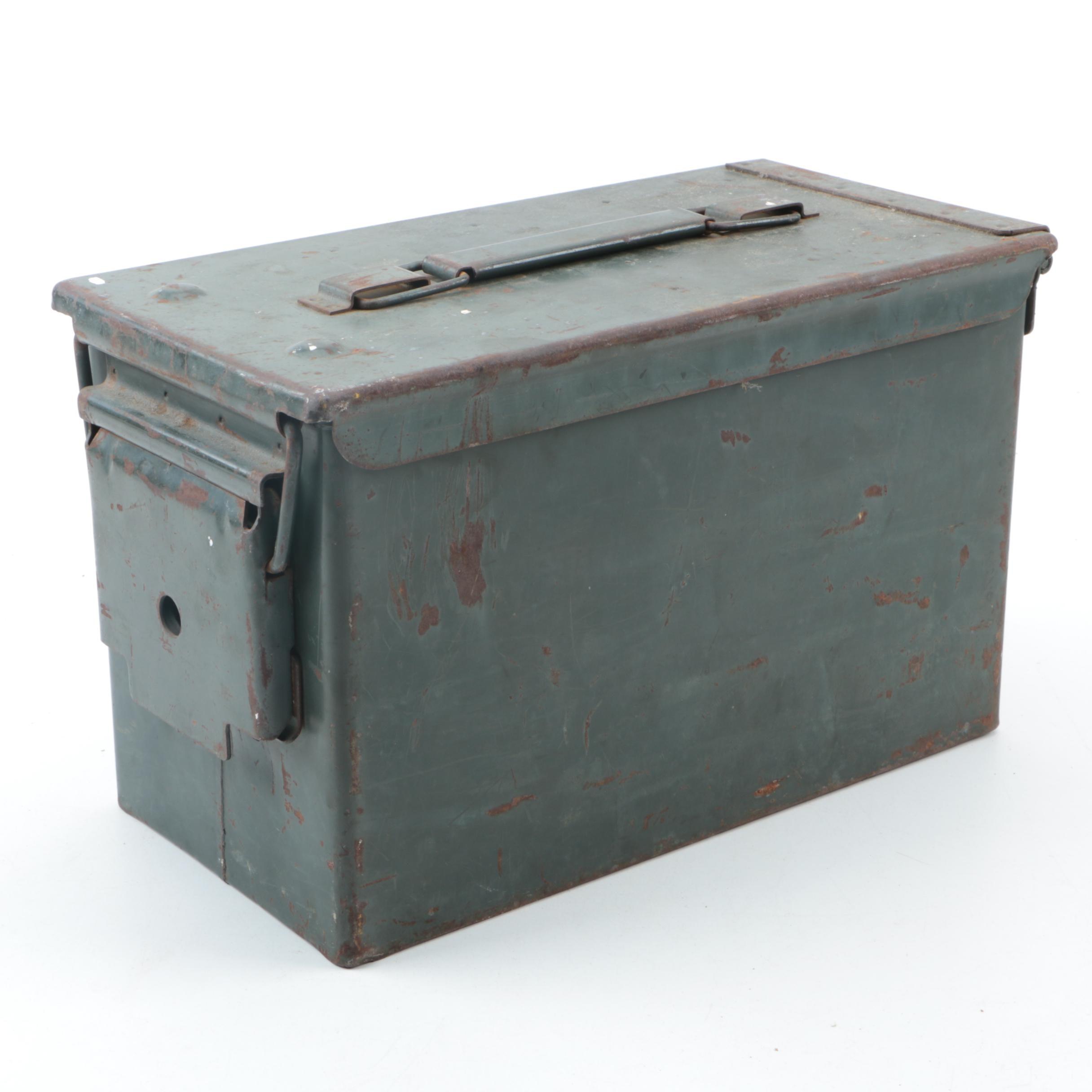 Metal Military Ammunition Box