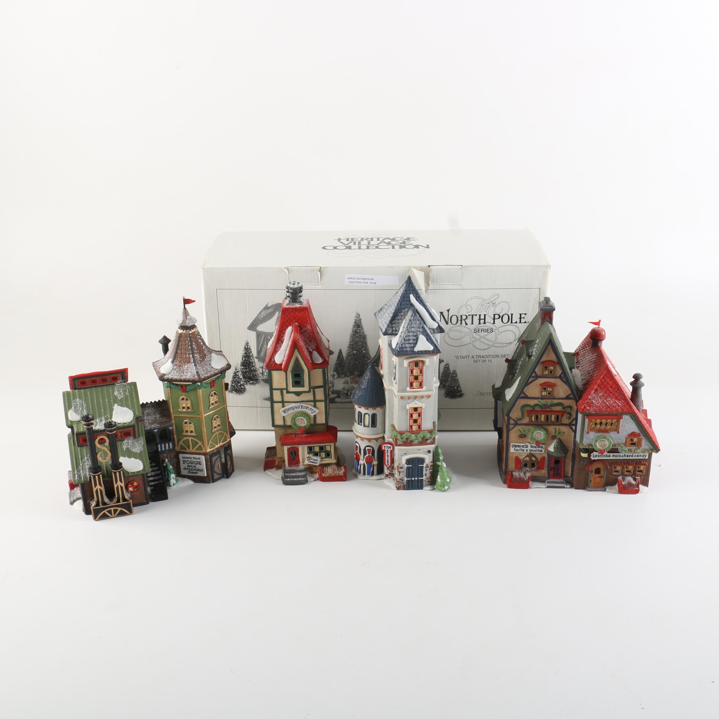 Department 56 North Pole Series Christmas Decor