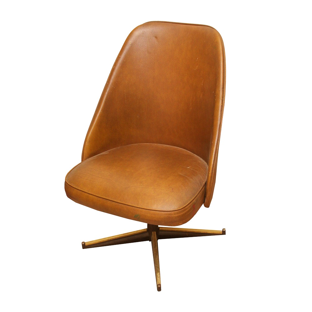 Mid Century Modern Swivel Chair by Cal-Style