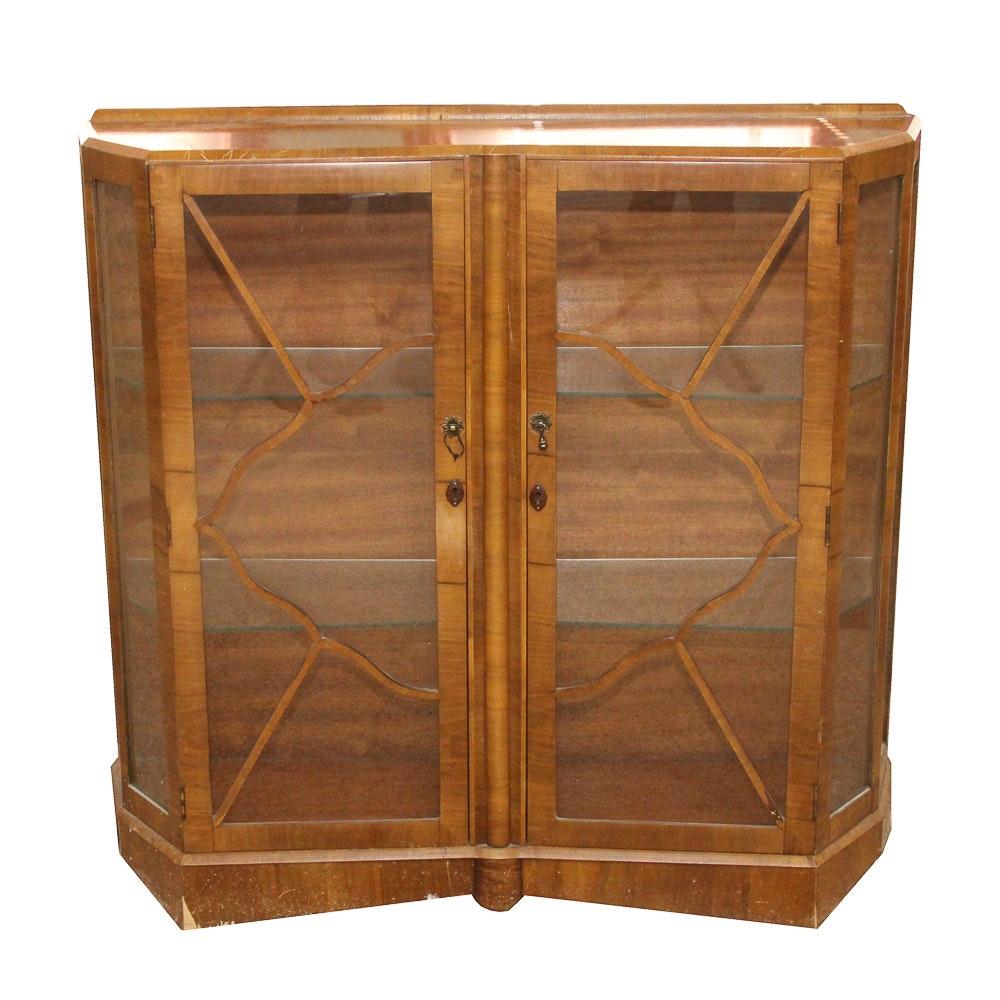 English Art Deco Cabinet