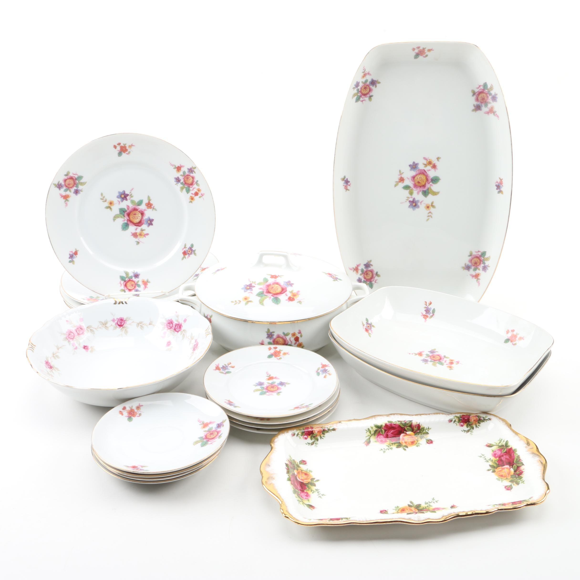 Porcelain Dinnerware Featuring Edelstein