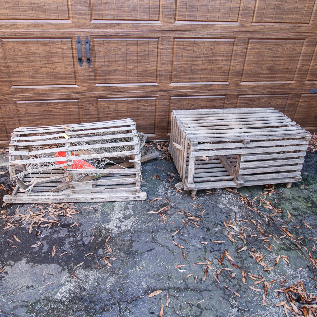 Pair of Lobster Traps