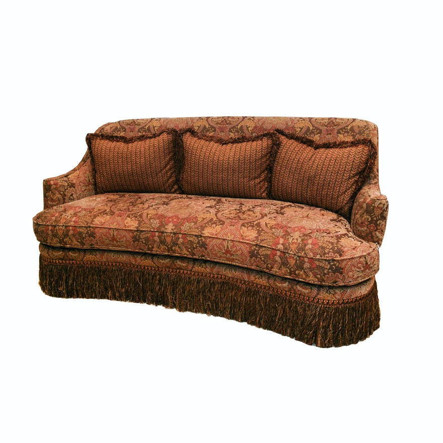 Robb Stucky Fringed Sofa
